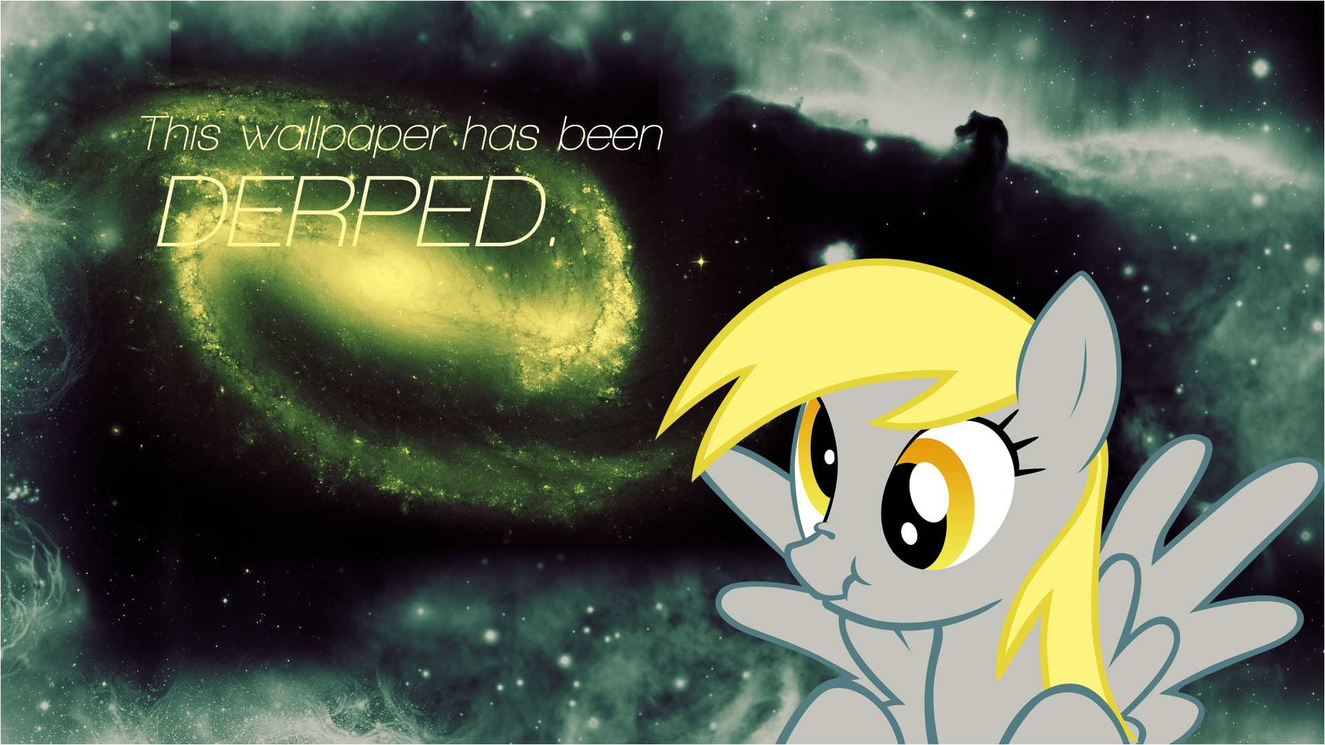 This wall has been...DERPED. by Epic-Panda17 and SoundmOtion