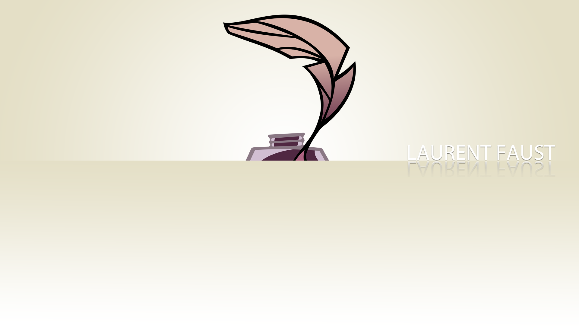 Lauren Faust Minimalistic Wallpaper by BlueDragonHans and The-Smiling-Pony