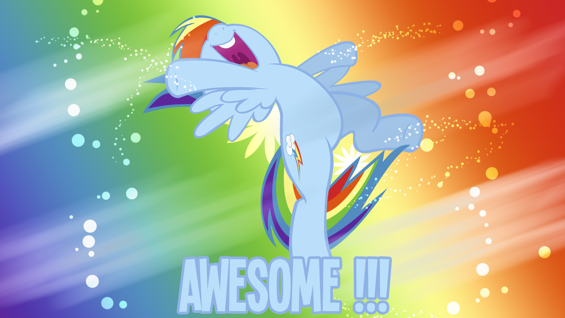 Awesome Rainbow Dash Wallpaper By Bluedragonhans And Takua770 My