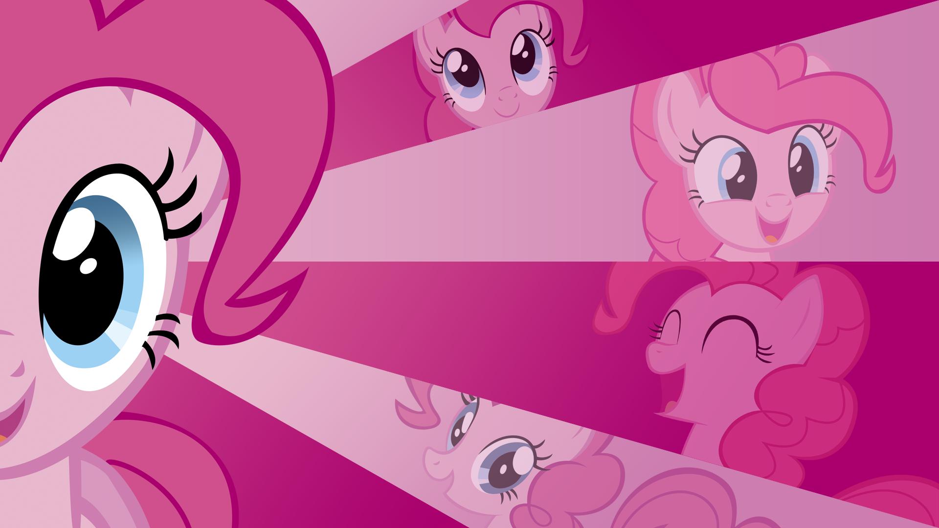 Pinkie Pie Wallpaper by BlueDragonHans, Mihaaaa, Orschmann, Peachspices and Tigersoul96