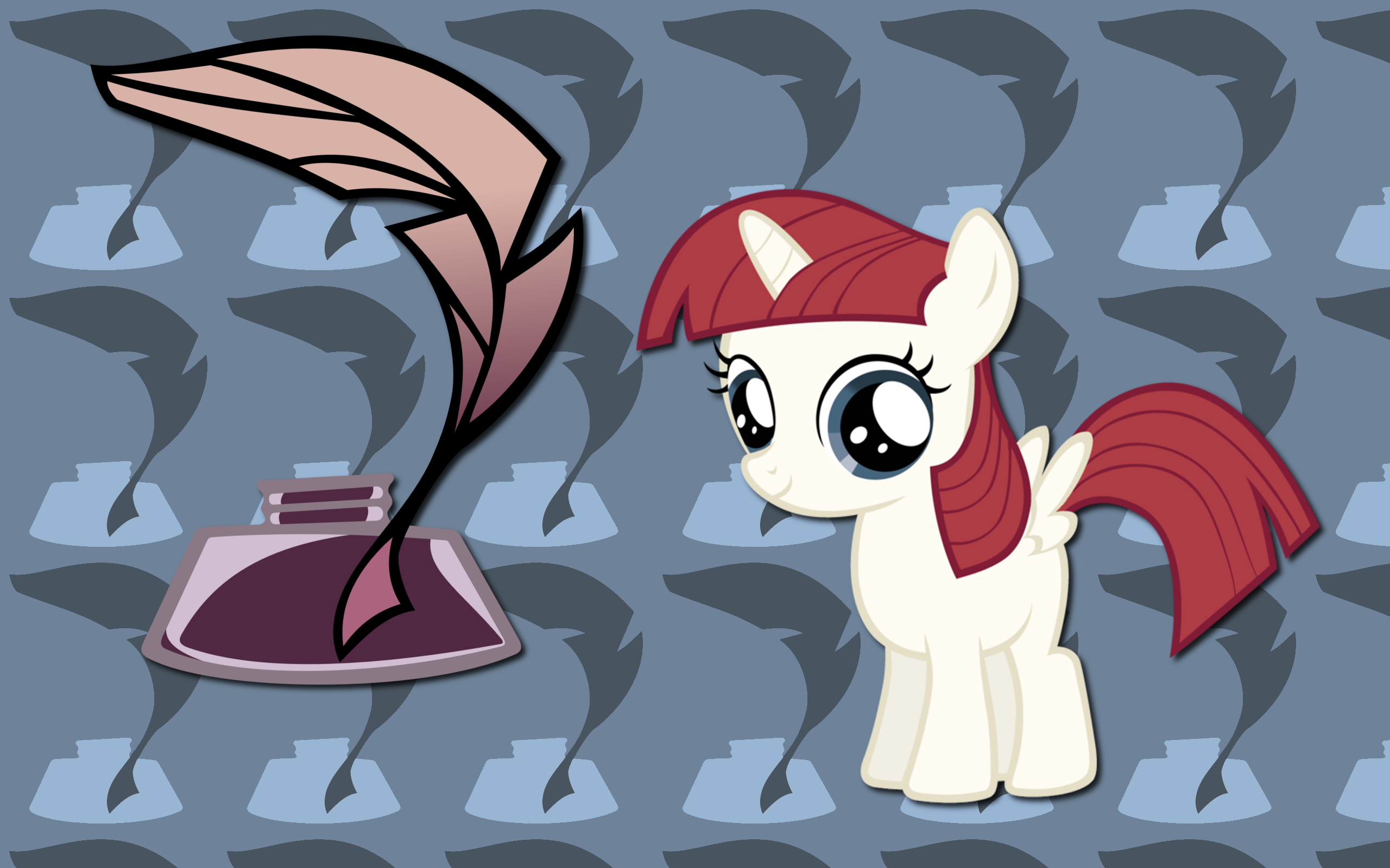 OC Filly Lauren Faust WP by AliceHumanSacrifice0, duelingrose and The-Smiling-Pony