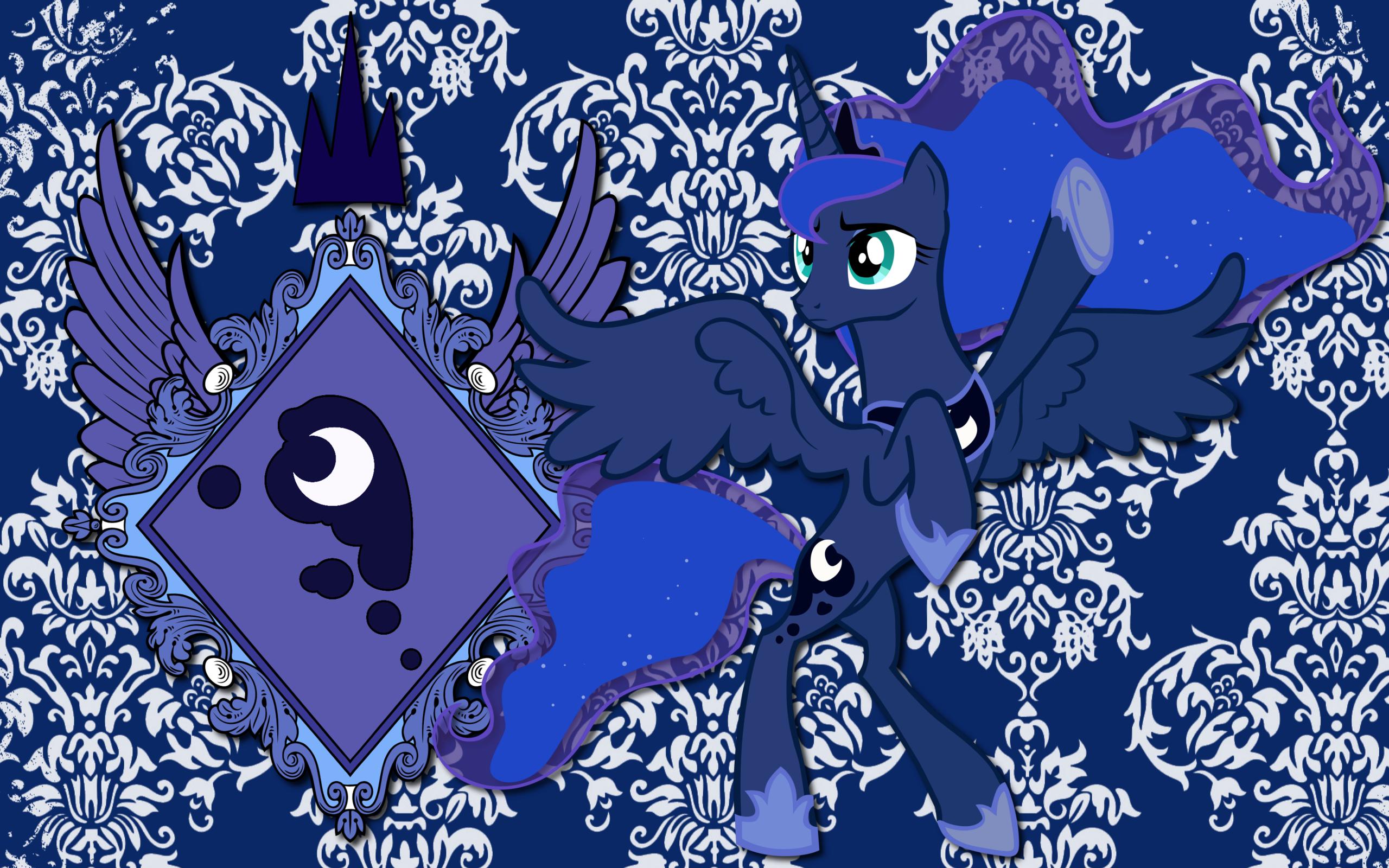 Princess Luna CoA WP by AliceHumanSacrifice0, Lord-Giampietro and Somepony