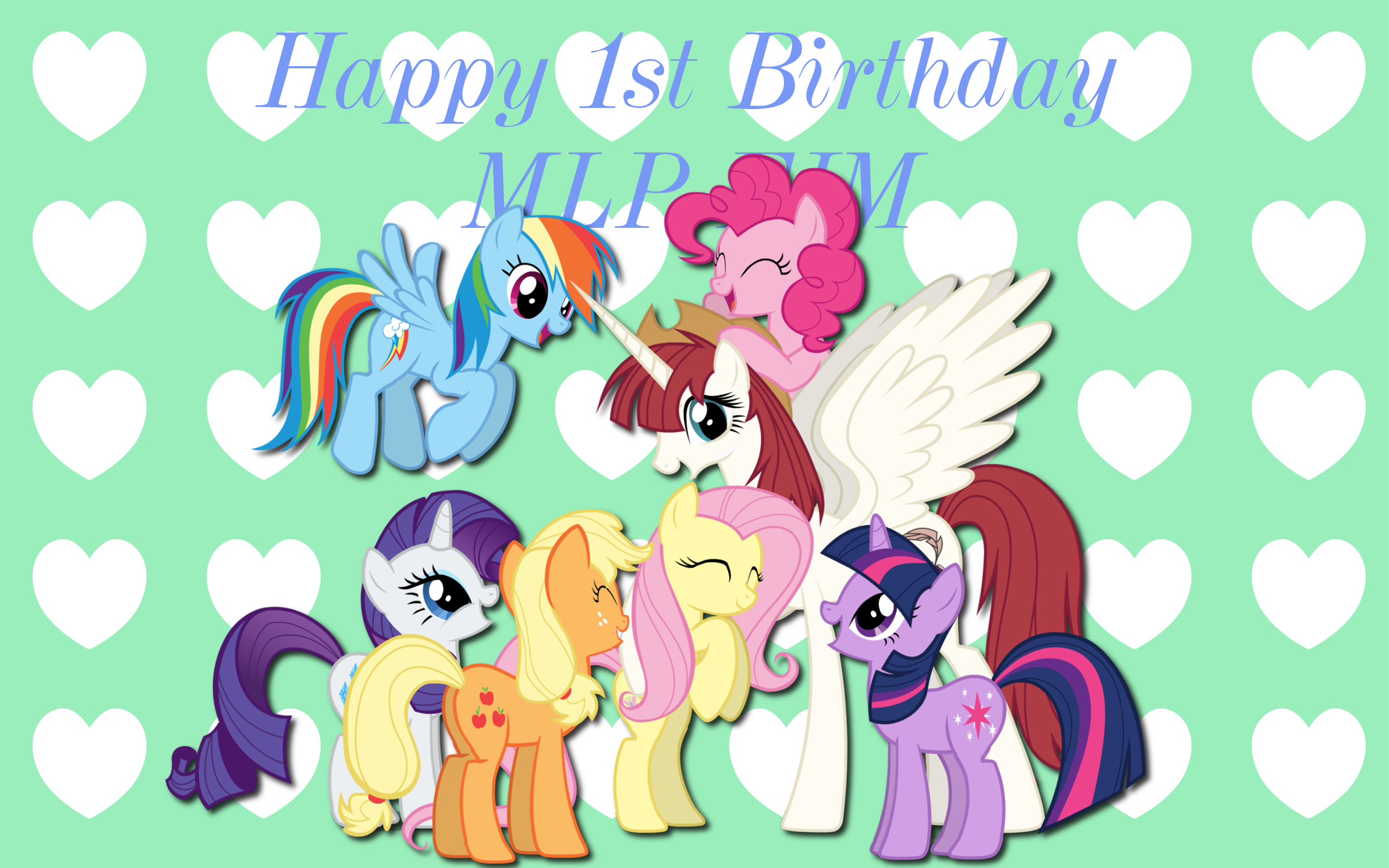 MLP Birthday Wishes WP by AliceHumanSacrifice0 and Mixermike622