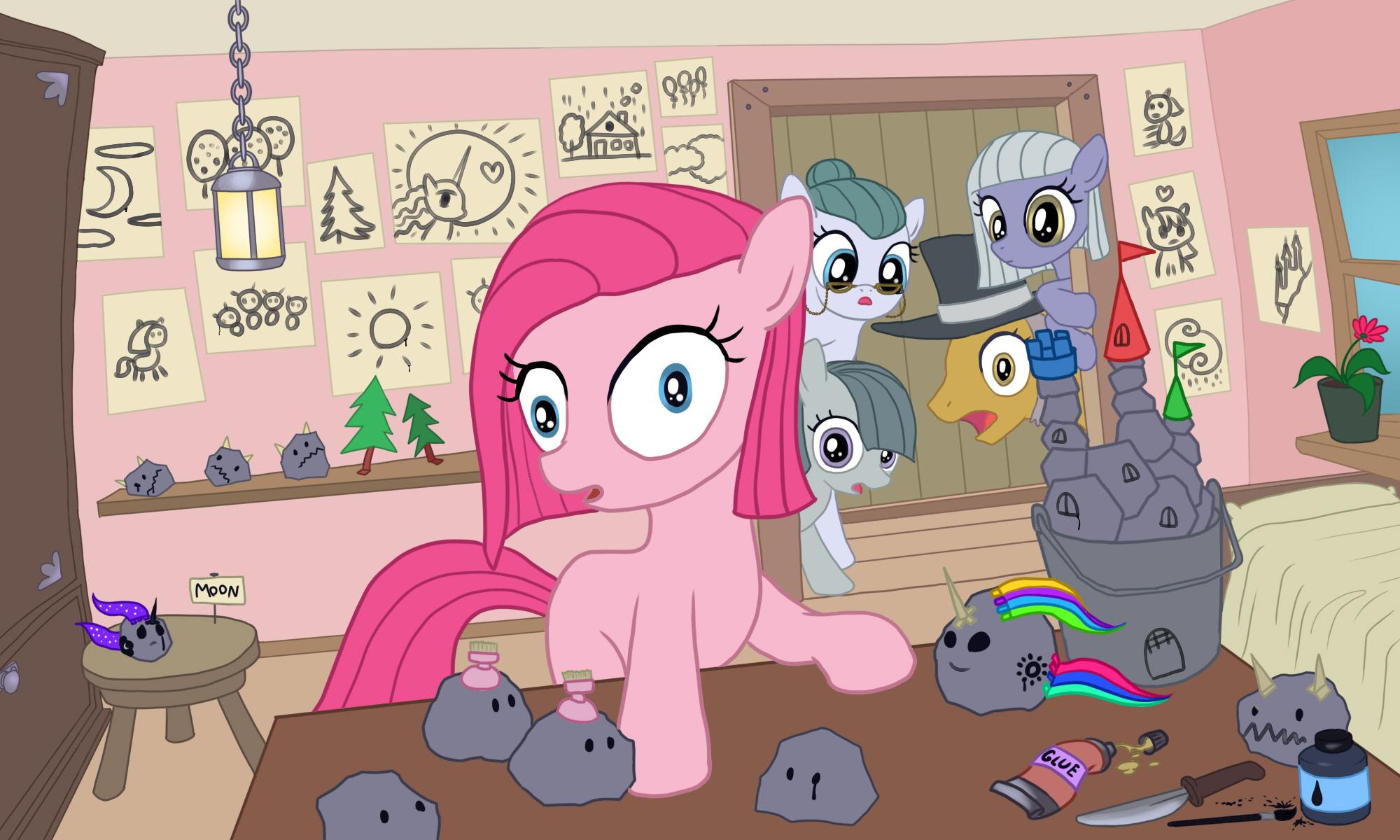 Pinkie Pie's toys by alexmakovsky