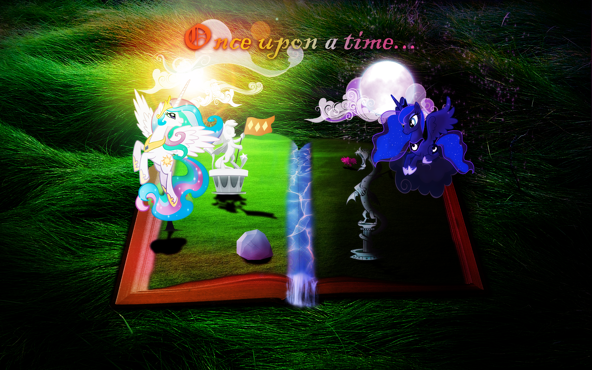 Once upon a time... by AxemGR, BlowingBomb, GuruGrendo, MisterLolrus, purplefairy456, Qsteel, Vectorshy and Vividkinz