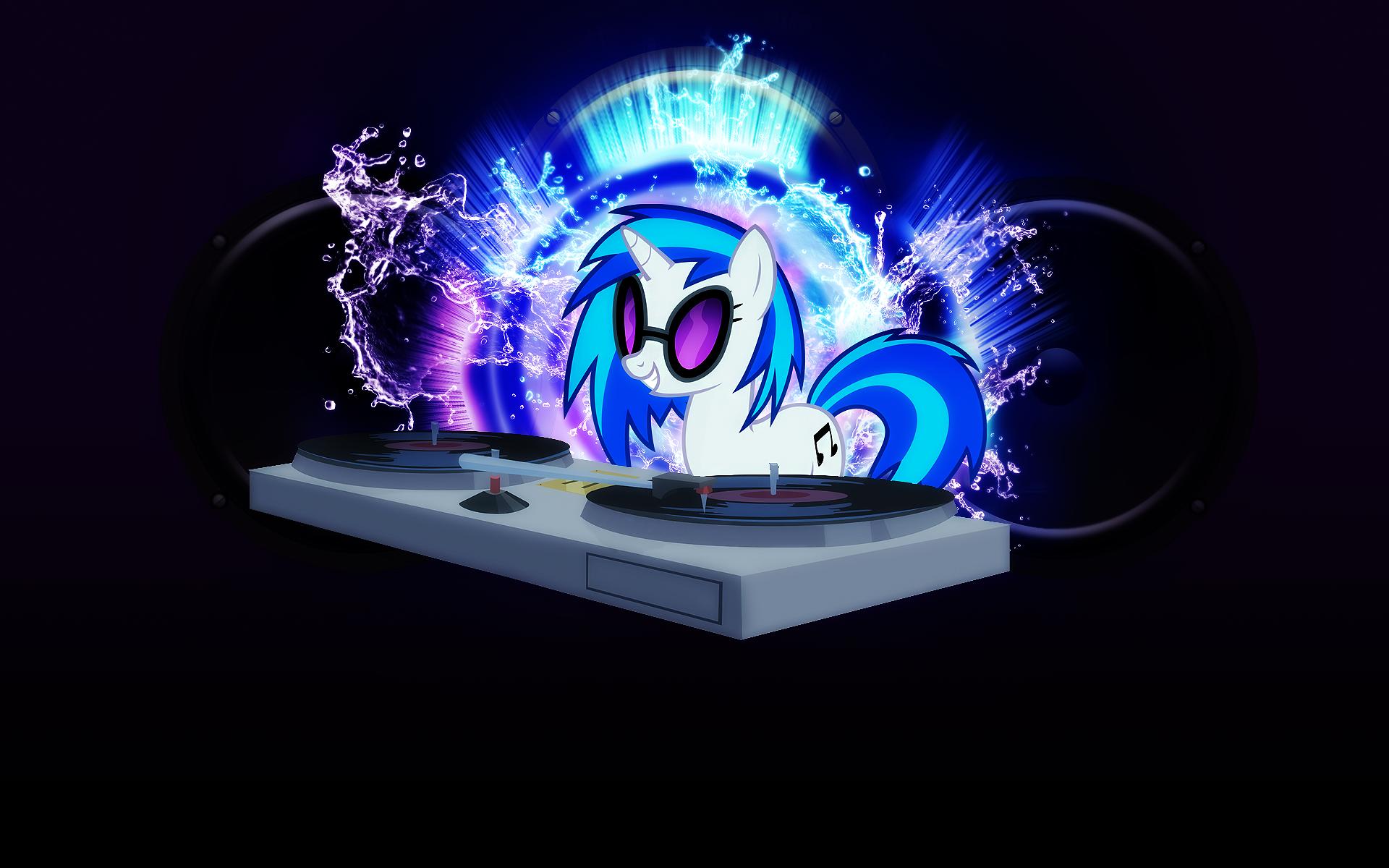 Spotlight - DJ PON3 by AK71, MoongazePonies and Vividkinz