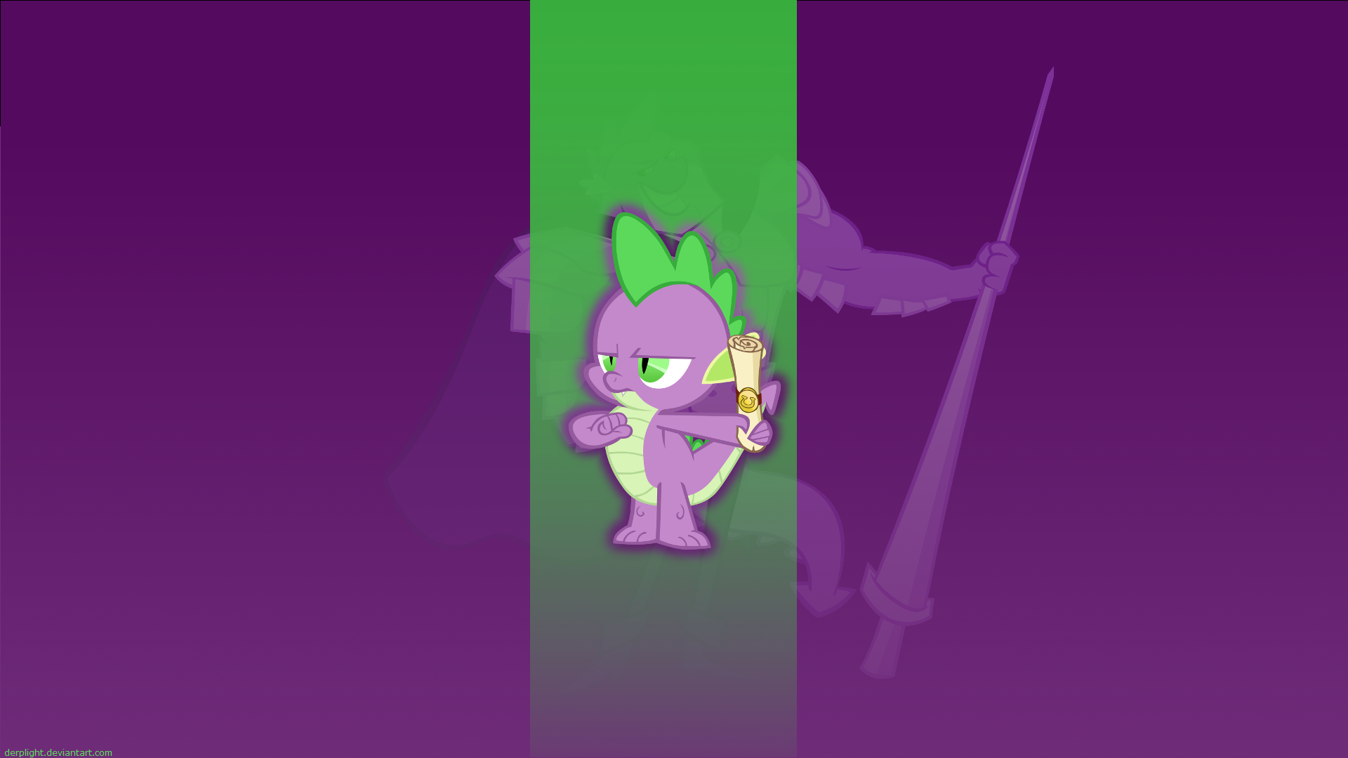 Spike Wallpaper by DerpLight, M99moron and Qsteel