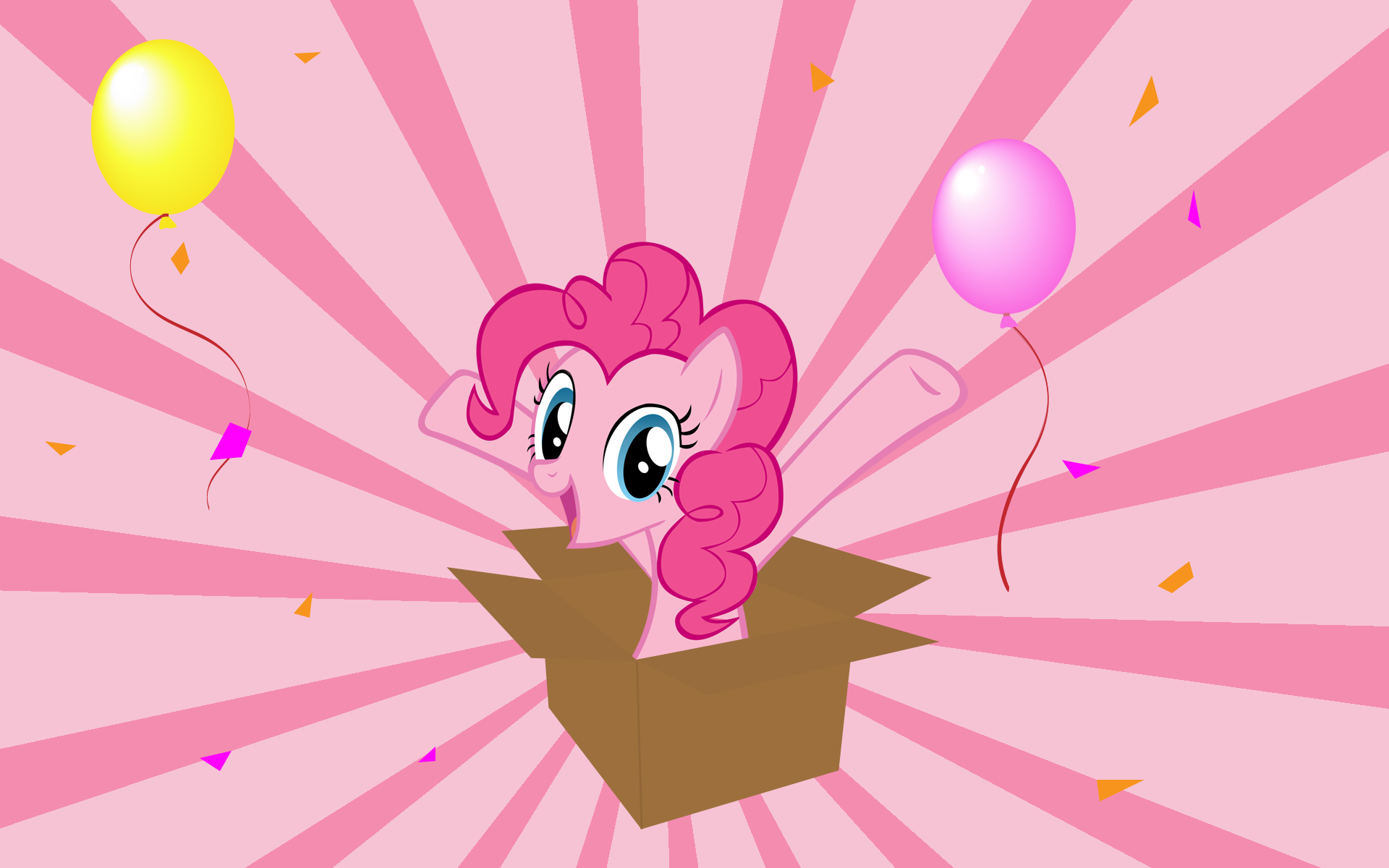 Pinkie Pie Party Wallpaper by pikn2