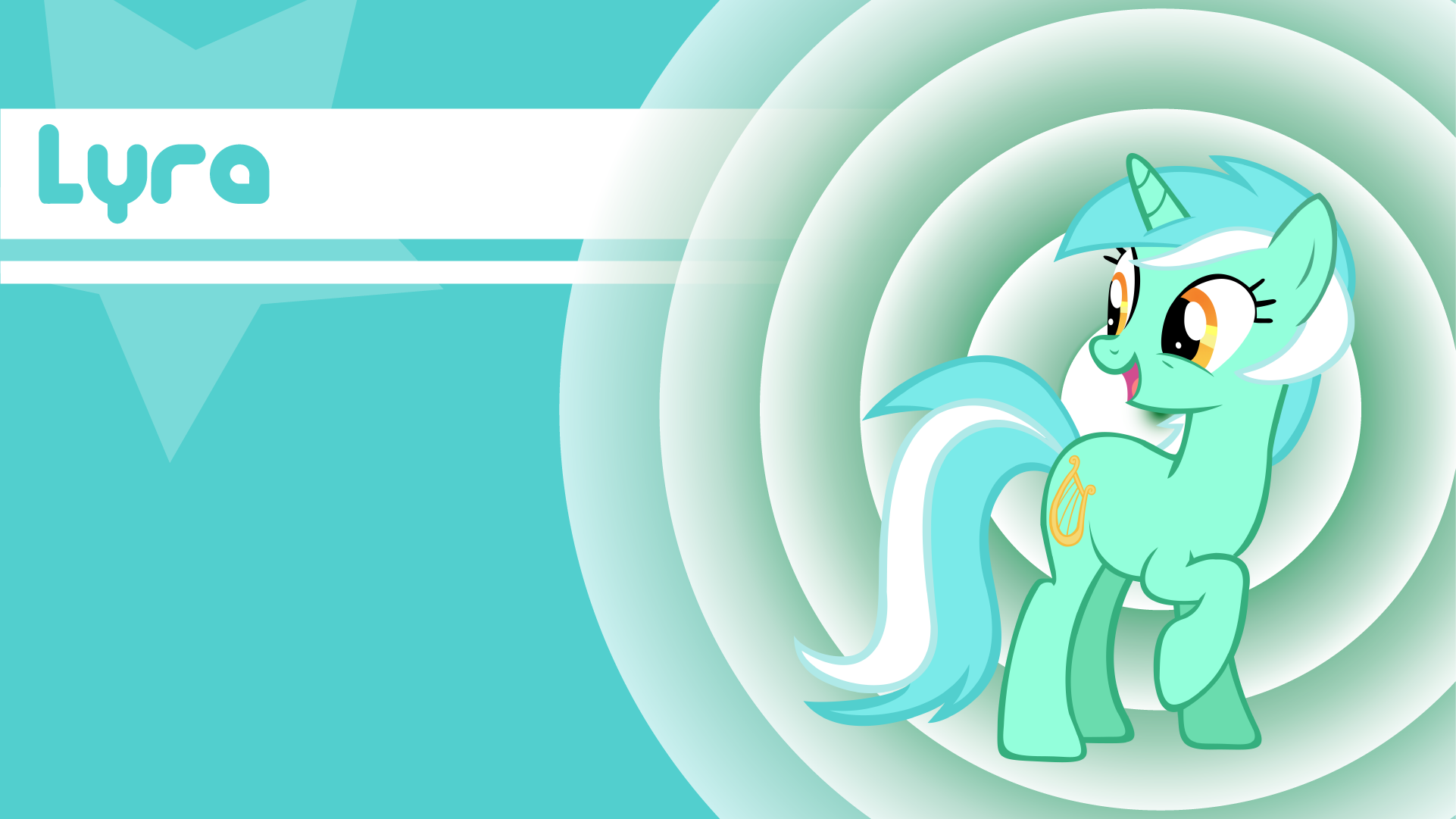 Lyra Heartstrings Wallpaper by LordVurtax and Shelmo69