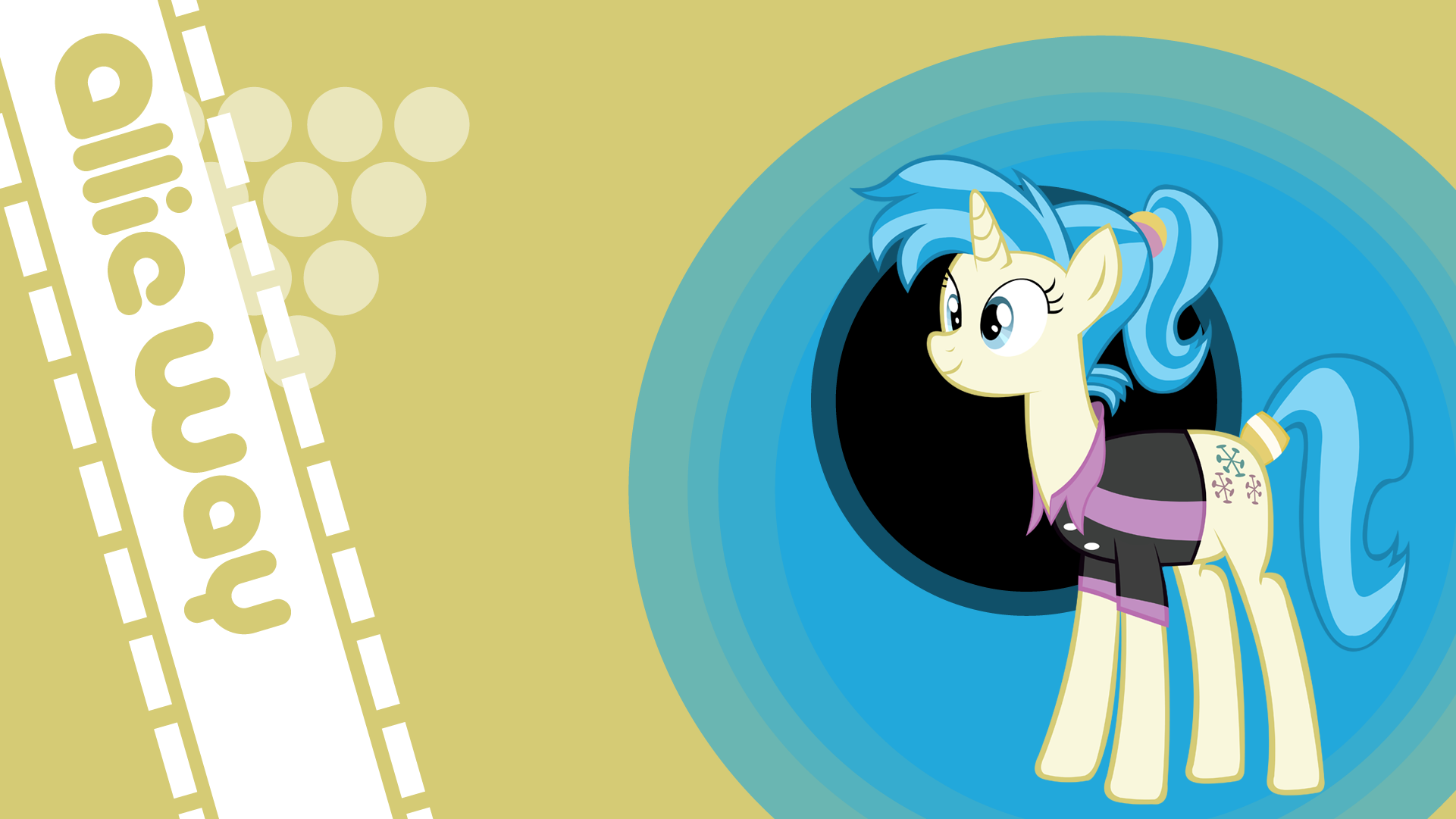 Allie Way Wallpaper by LordVurtax and YellowTDash