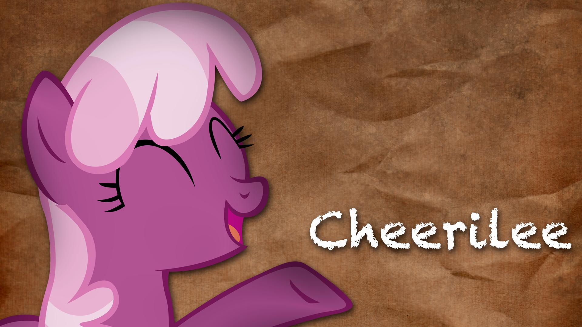 Cheerilee Wallpaper by MyLittleVisuals