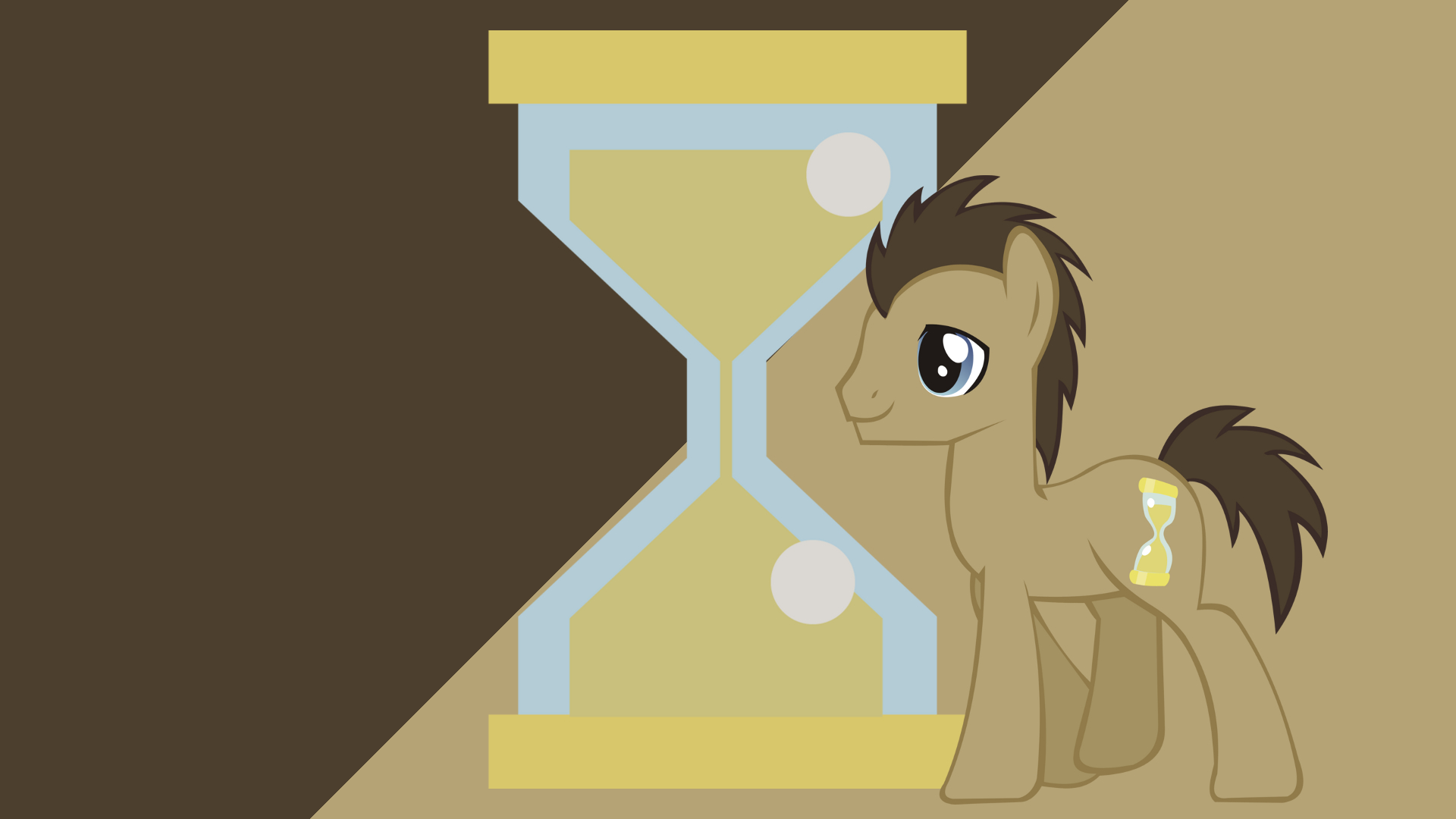 Minimalist Wallpaper 28: Doctor Whooves by Kna, ooklah and Softfang