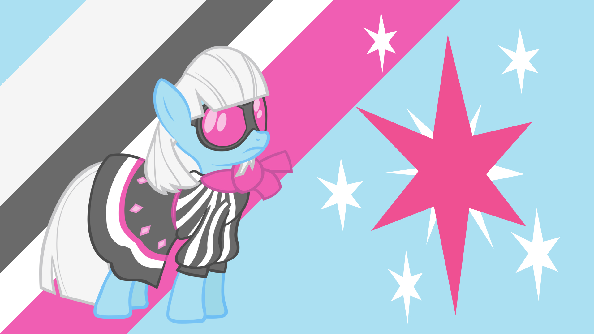 Minimalist Wallpaper 46: Photo Finish by BlackGryph0n, ShelltoonTV and Softfang