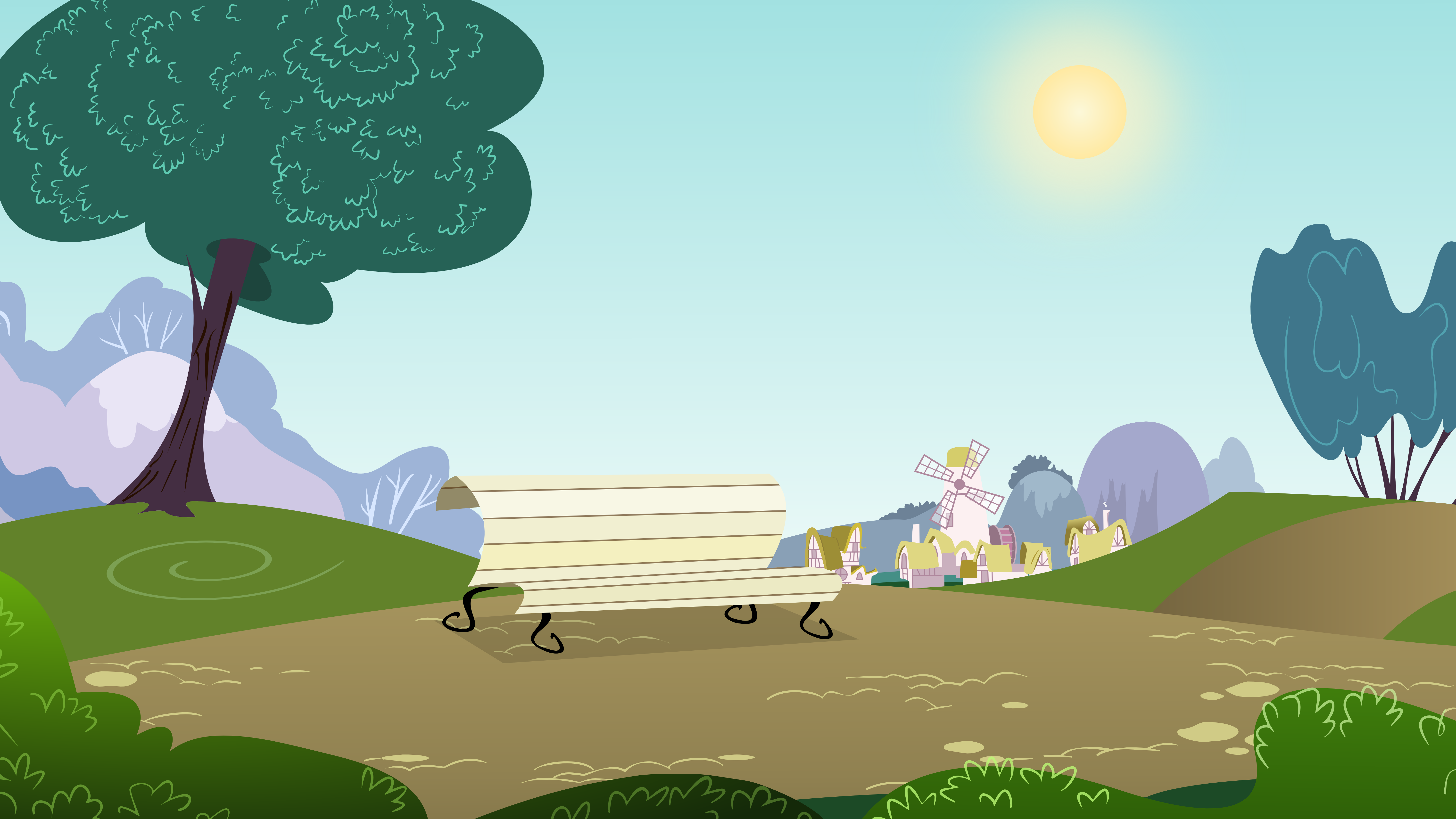 Park Background by mandydax