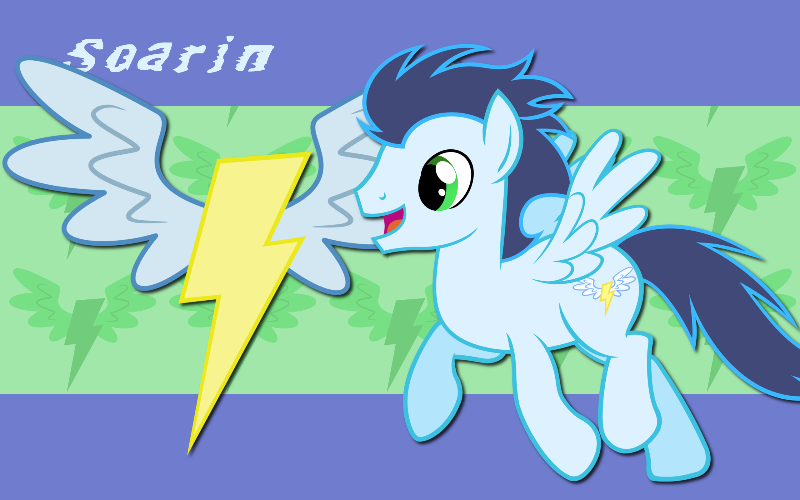 Soarin WP 2 by AliceHumanSacrifice0, MoongazePonies and The-Smiling-Pony