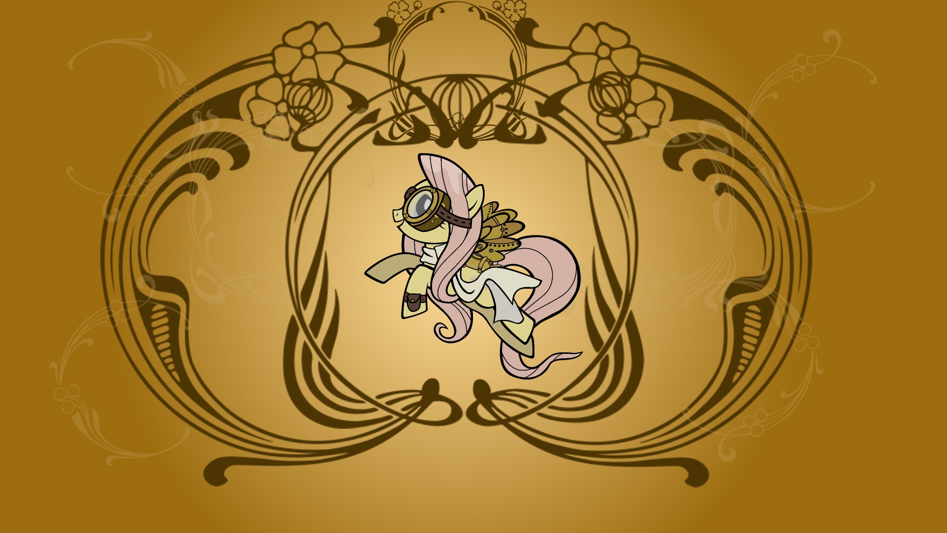 Fluttershy WP by Mac3030 and mowza2k2