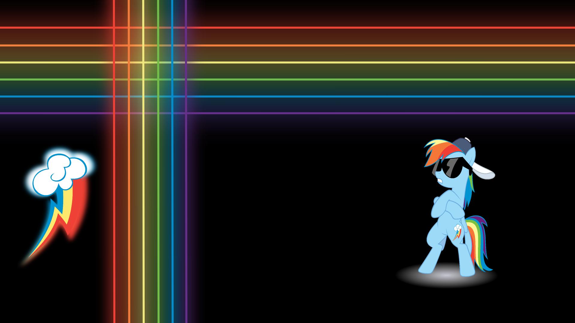 Rainbow Dash Radicalness WP by EROCKERTORRES, Mac3030 and noxwyll