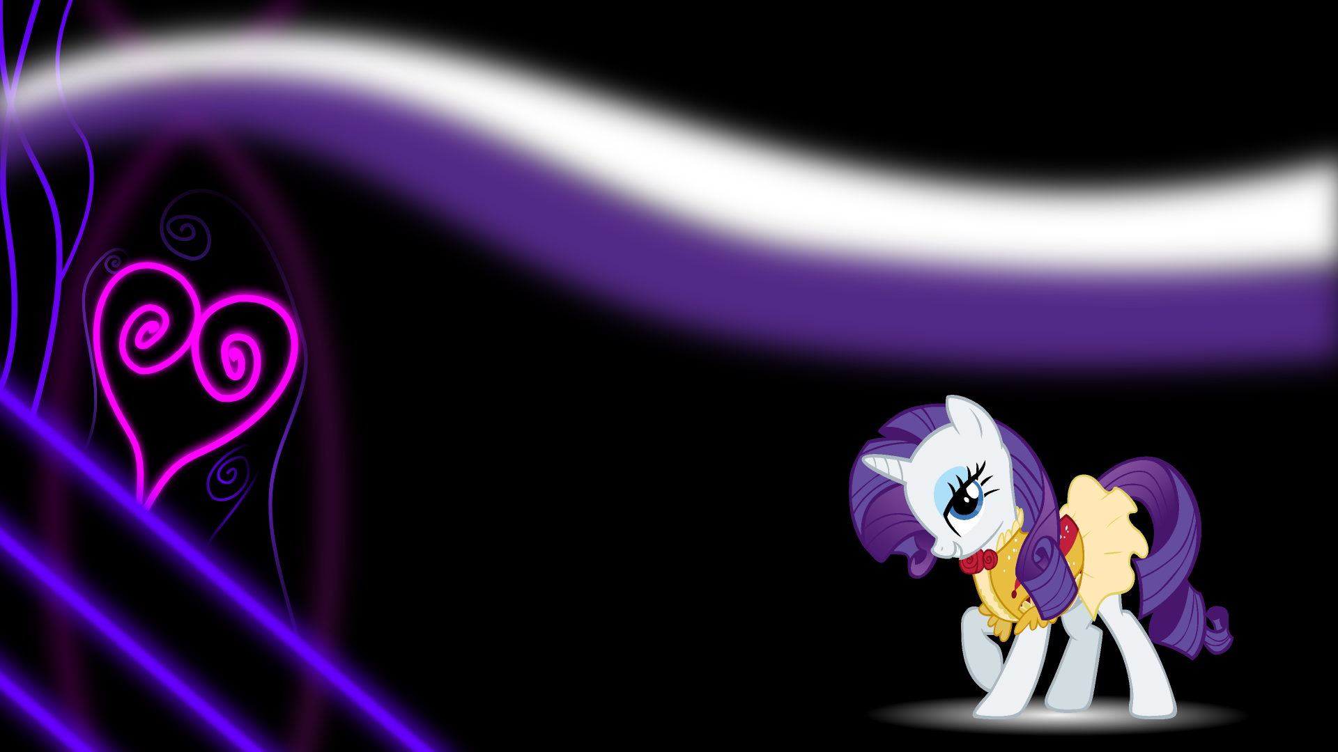 Rarity -- WP by Mac3030 and Somepony