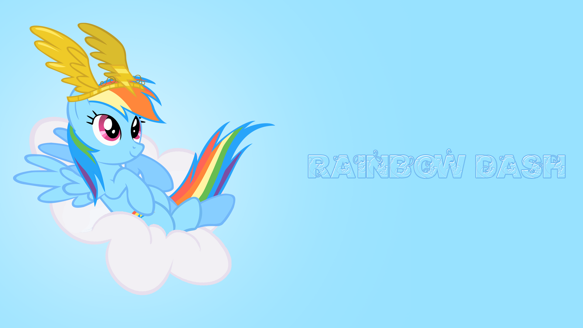 My little pony friendship is magic wallpaper rainbow dash