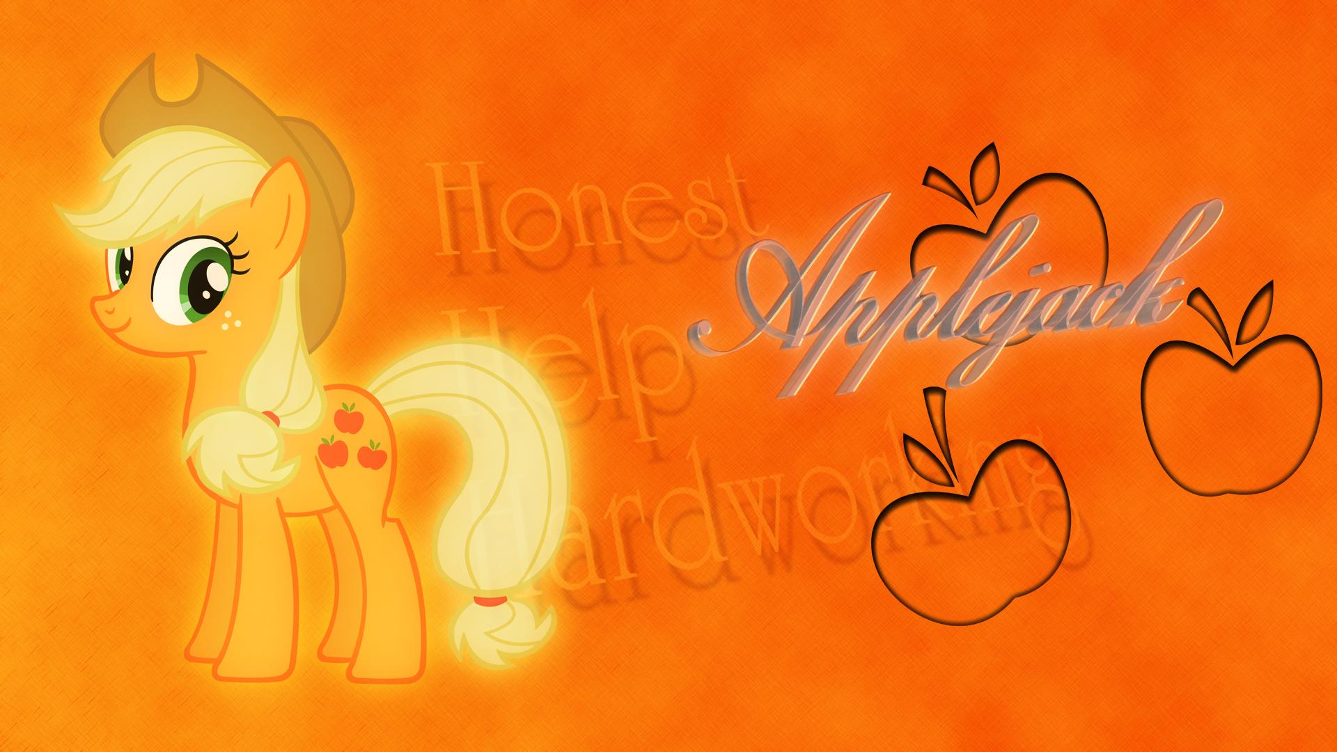 Applejack - Honest Help Hardworking by BlackGryph0n, EmbersAtDawn and Vexorb