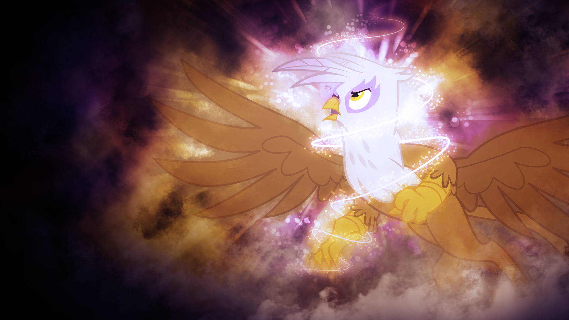 Gilda Taking Flight Wallpaper by AbrotherM and SandwichDelta