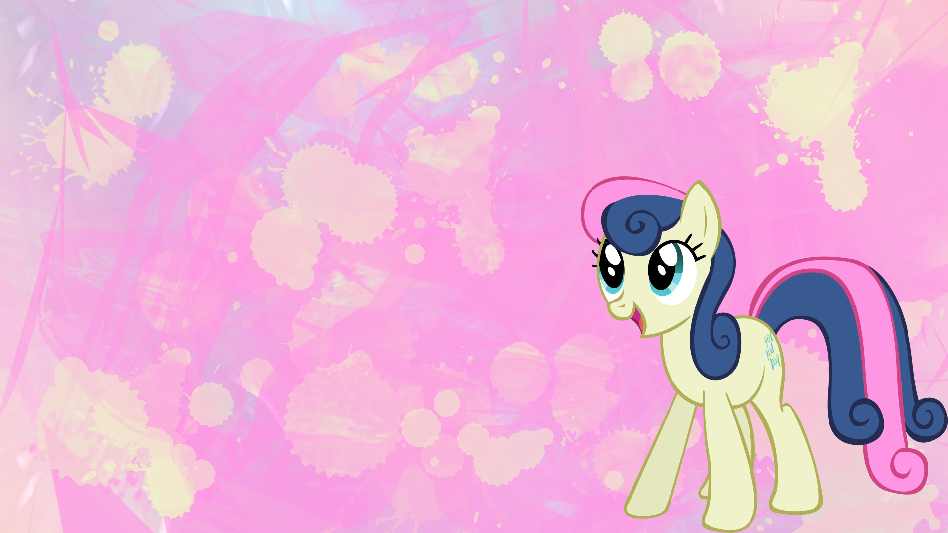 mlp:fim bon-bon wallpaperapoljak | my little pony | my little