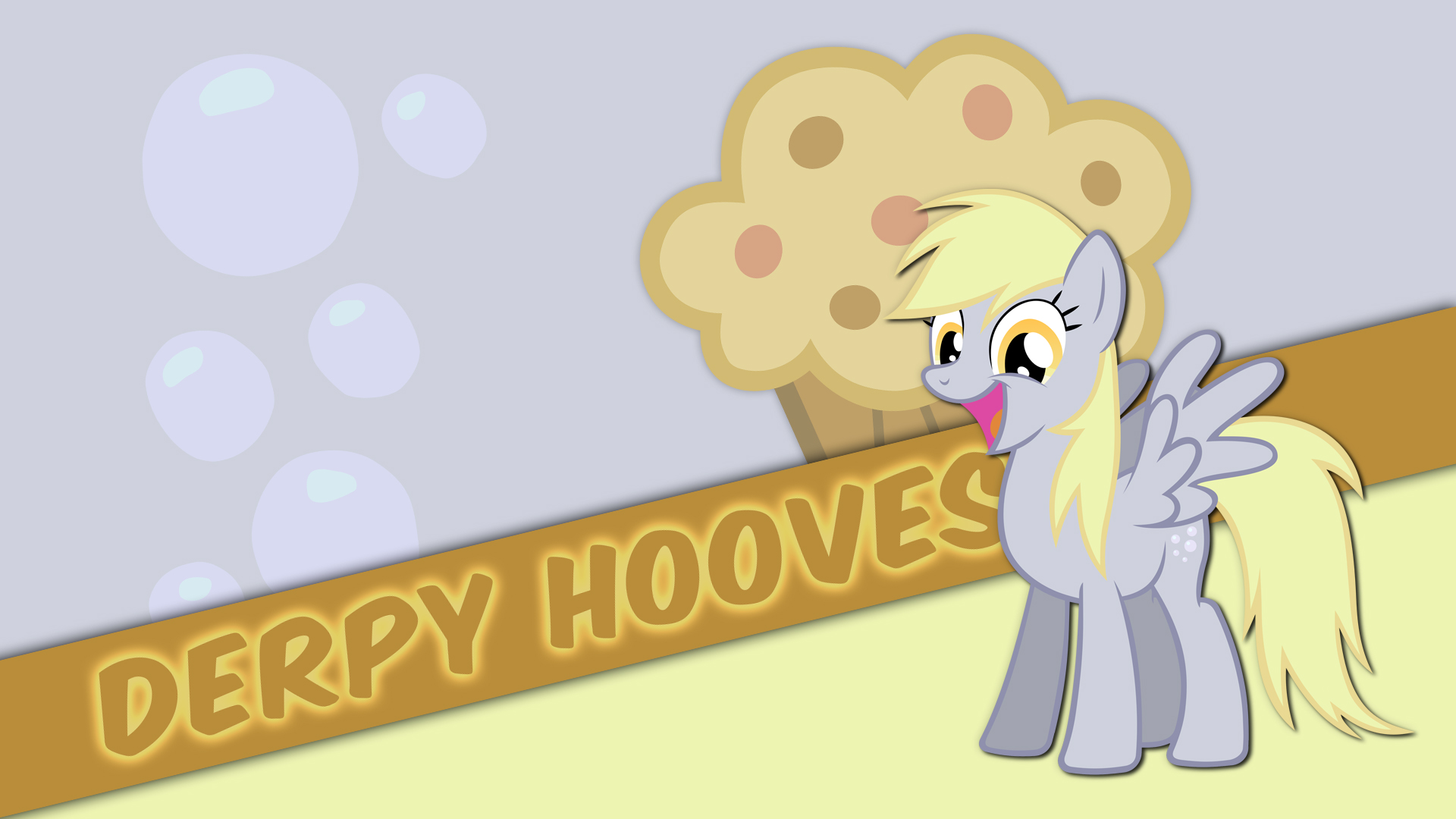 Derpy Hooves Wallpaper By BlackGryph0n Noxwyll Pappkarton And