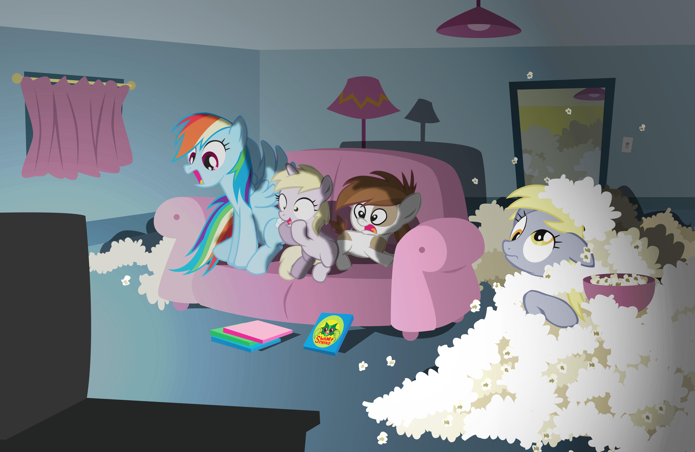 Couch Ponies by GammaEradon