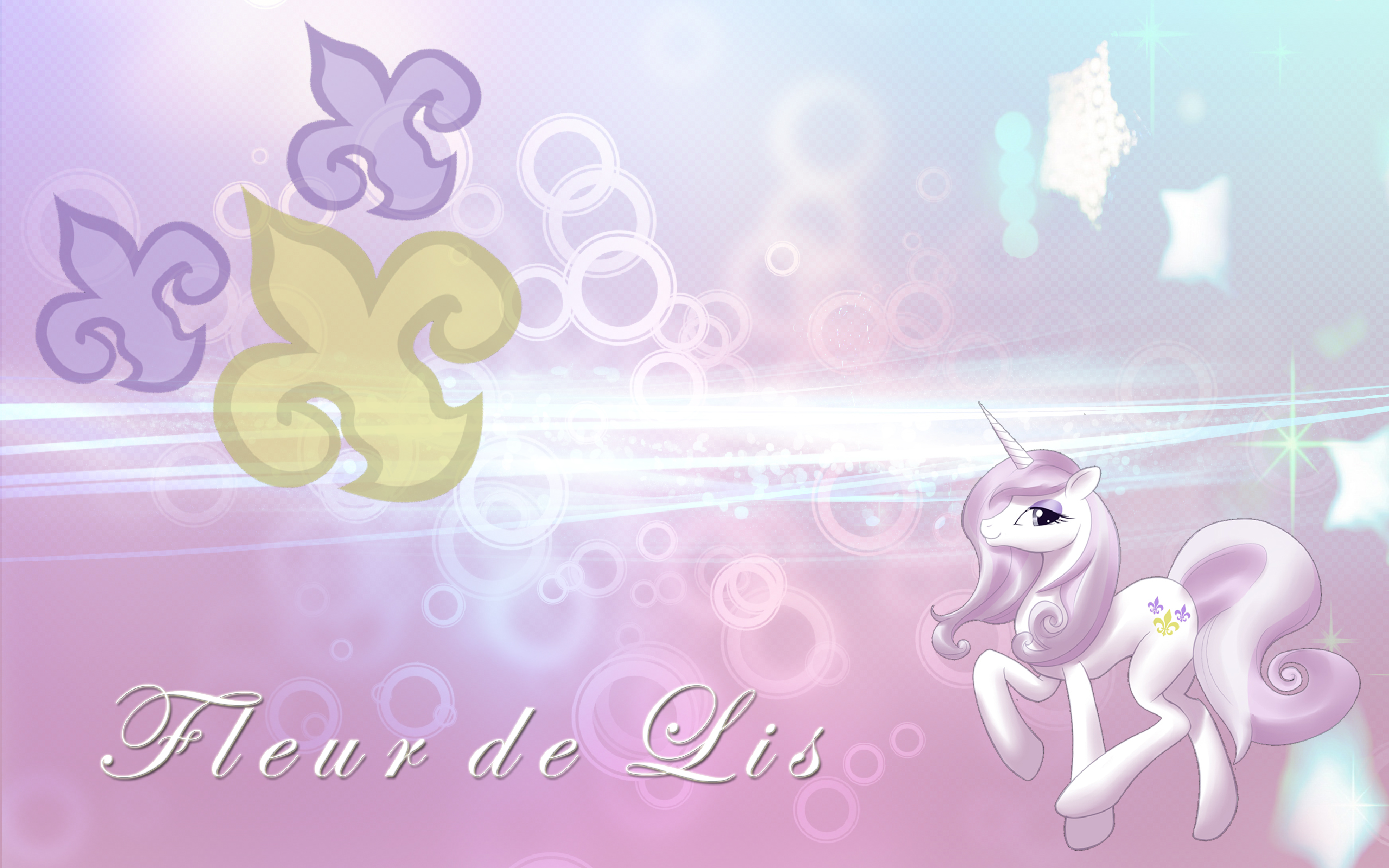 Fleur de Lis Cleaned by Saeiter