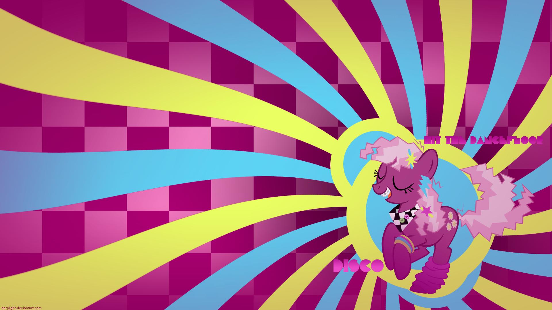 Disco: Hit the Dancefloor (Retro Cheerilee) by DerpLight and ShelltoonTV