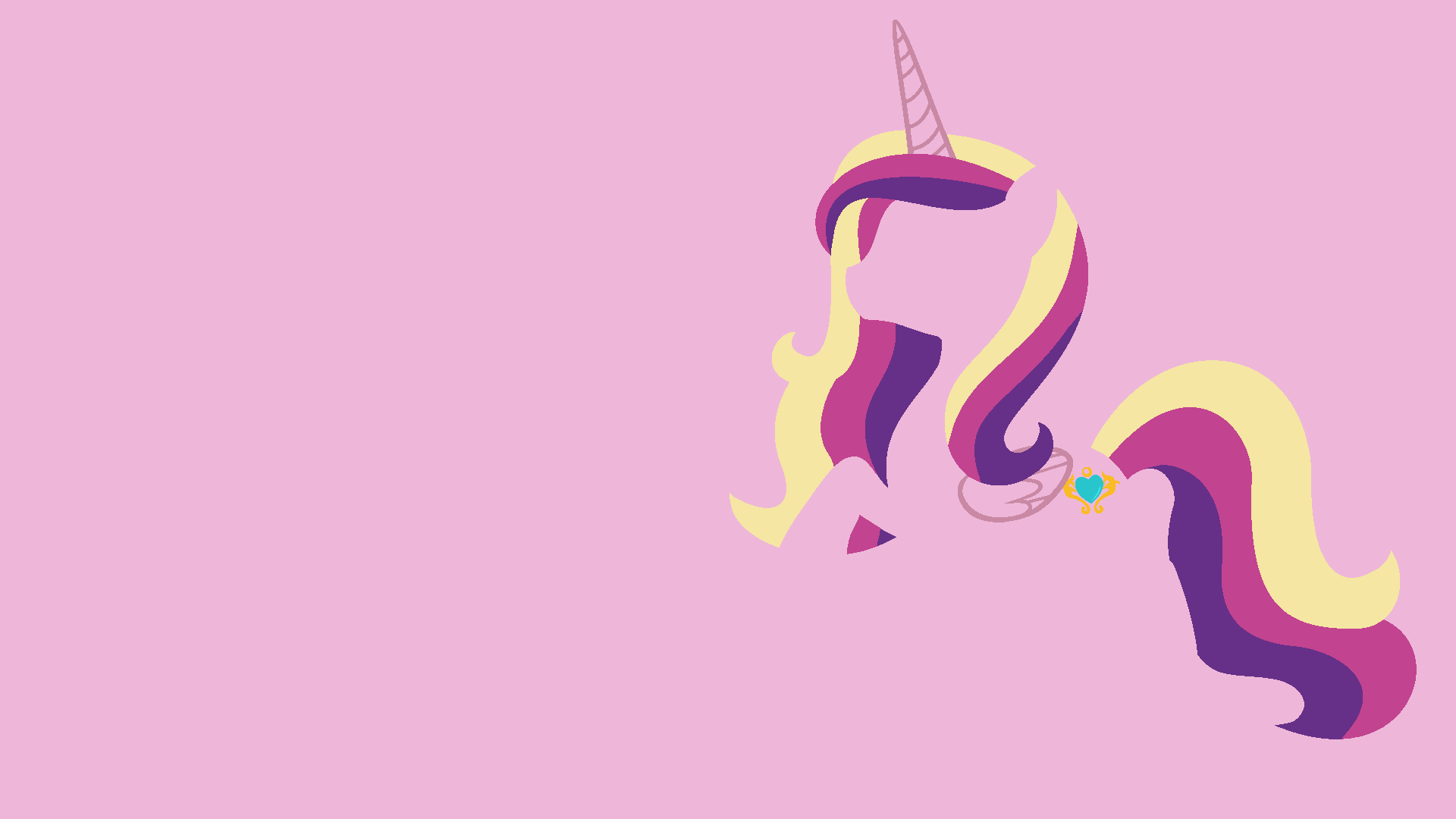 Cadence Minimalistic Wallpaper by DraikJack and Kitana-Coldfire