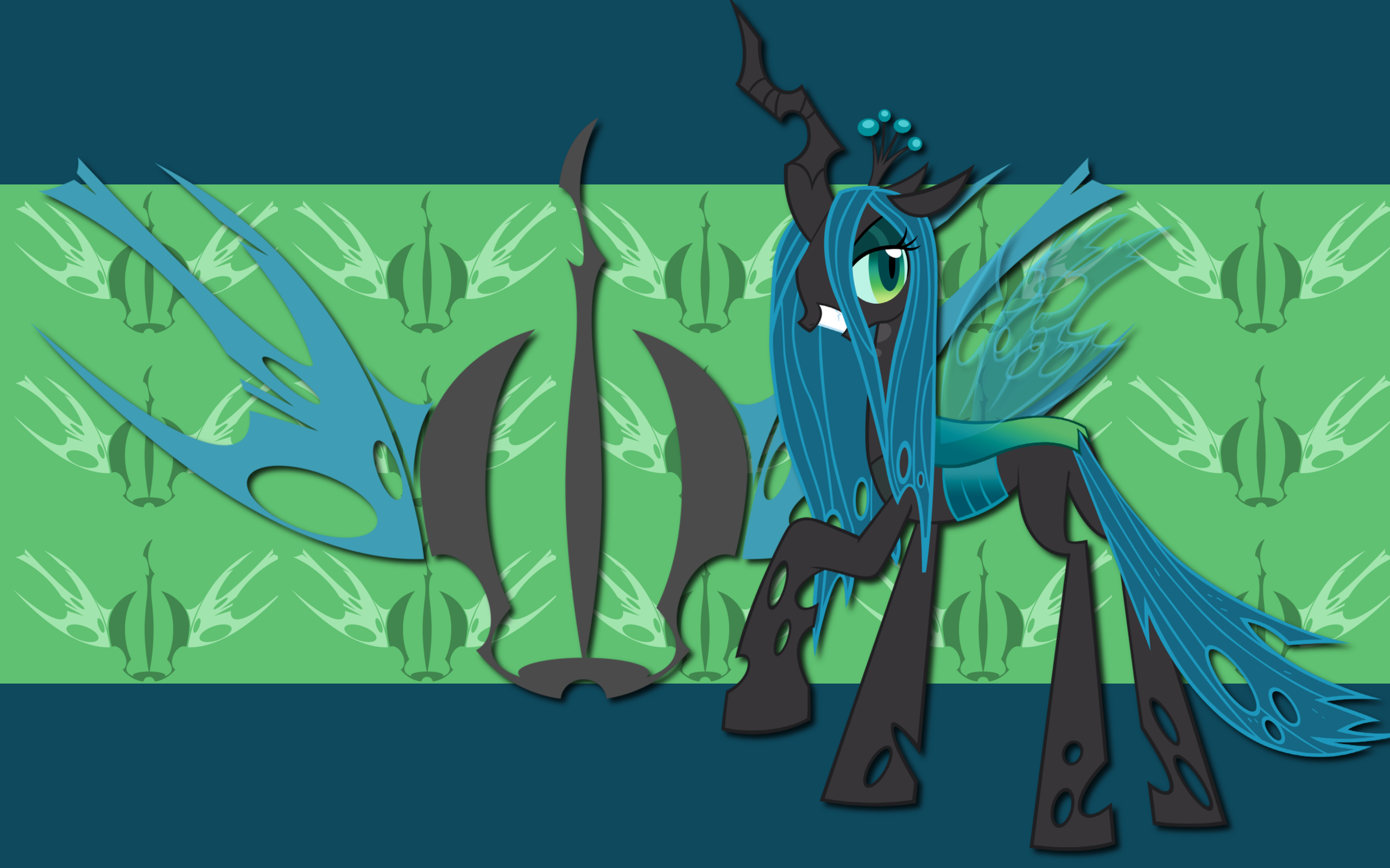 Queen Chrysalis WP by AliceHumanSacrifice0, Blackm3sh and Emkay-MLP