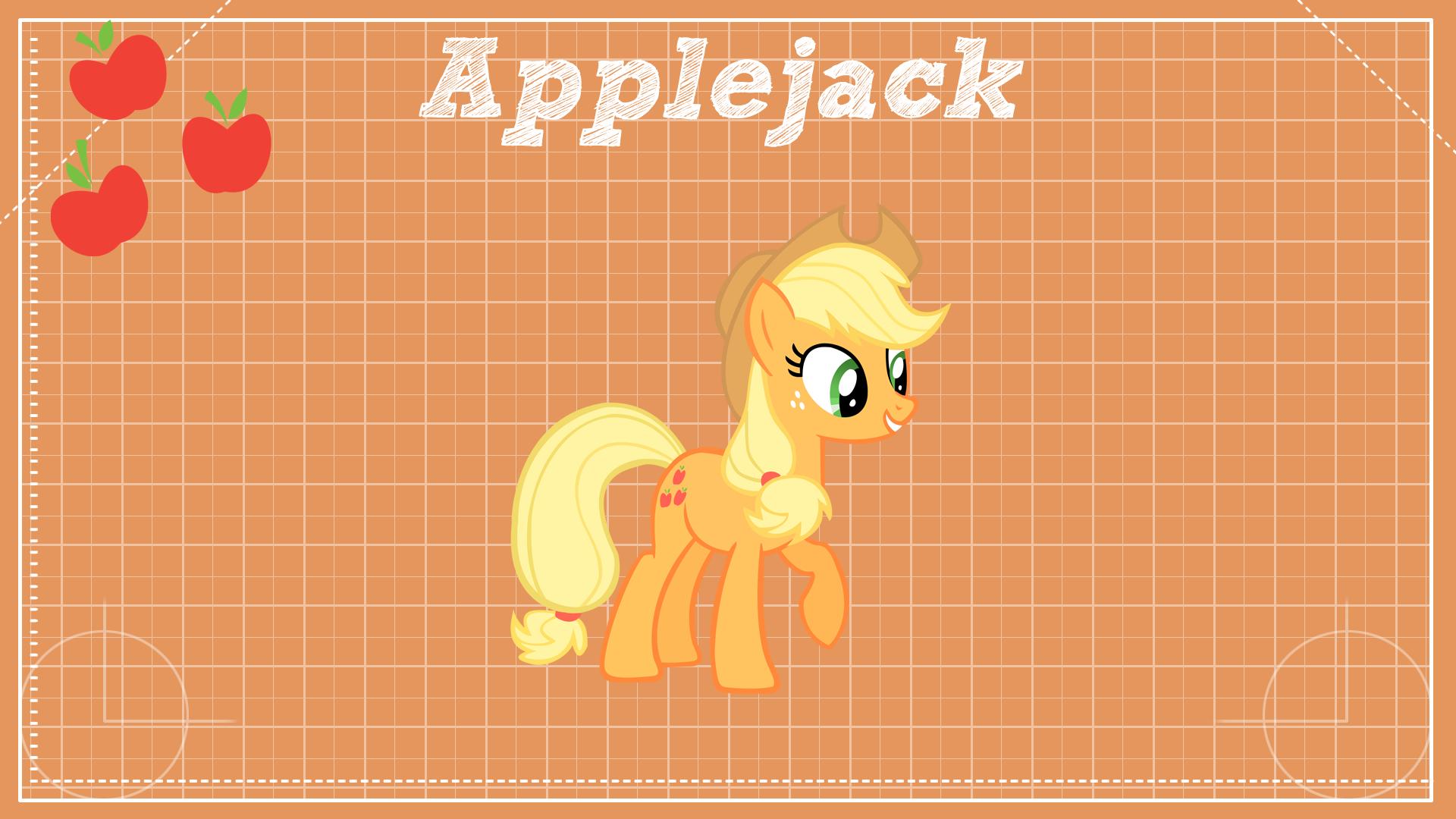 Applejack Design Clear by BlackGryph0n, ikonradx and Shelmo69