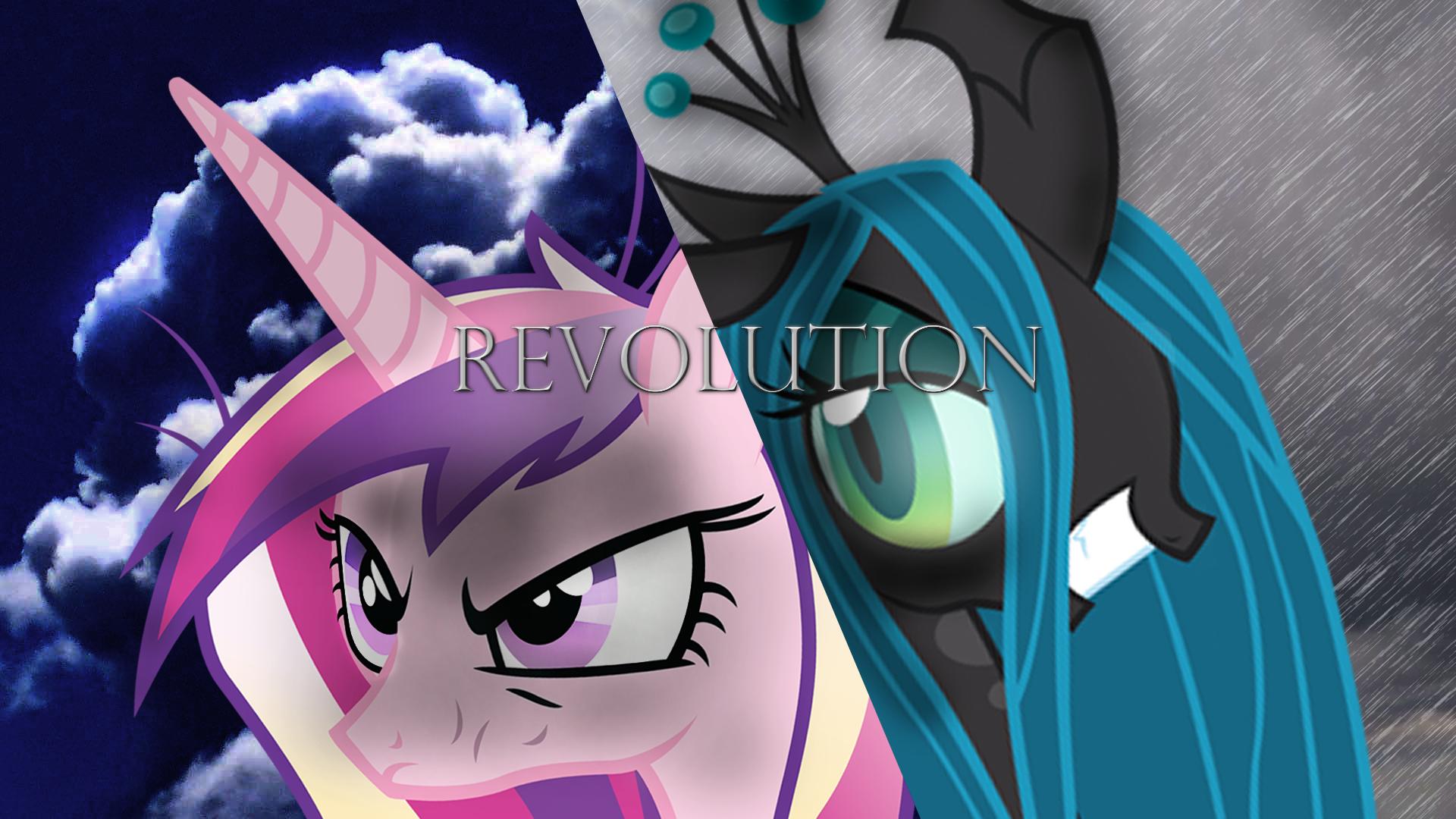 Princess Cadence VS Queen Chrysalis 2 by Blackm3sh, ElmoDesigns and RainbowPlasma