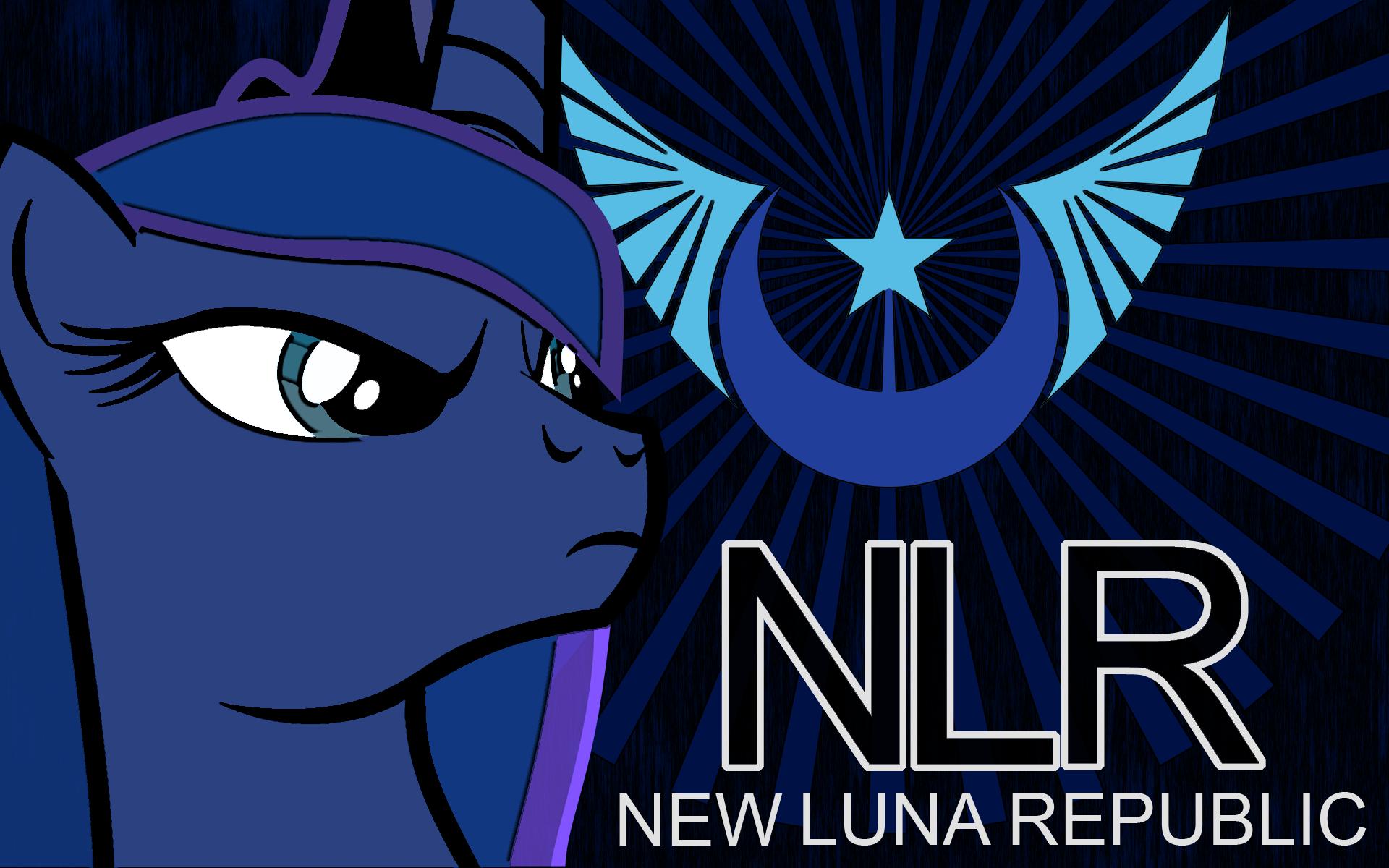 New Luna Republic Desktop Wallpaper (1900x1200) by AlphaMuppet, Emkay-MLP and kintexu2
