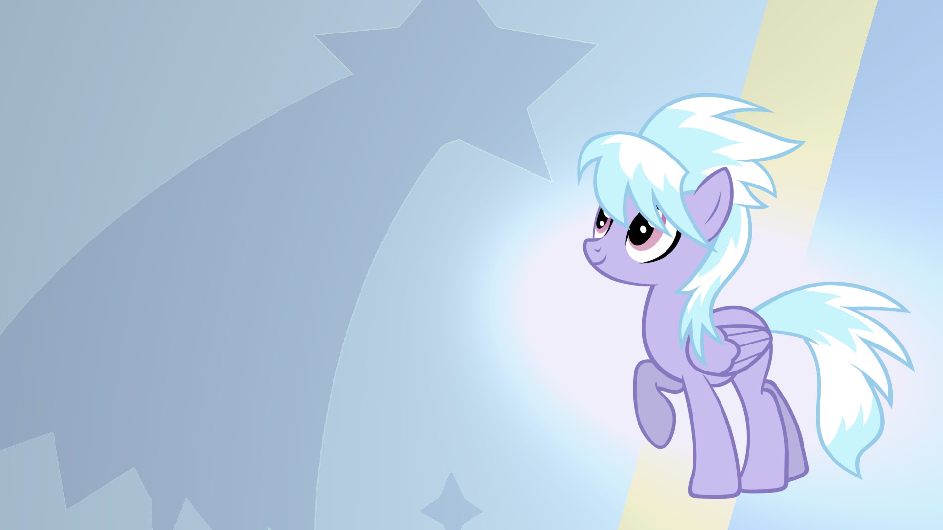 Cloudchaser Gradient Wallpaper by RDbrony16