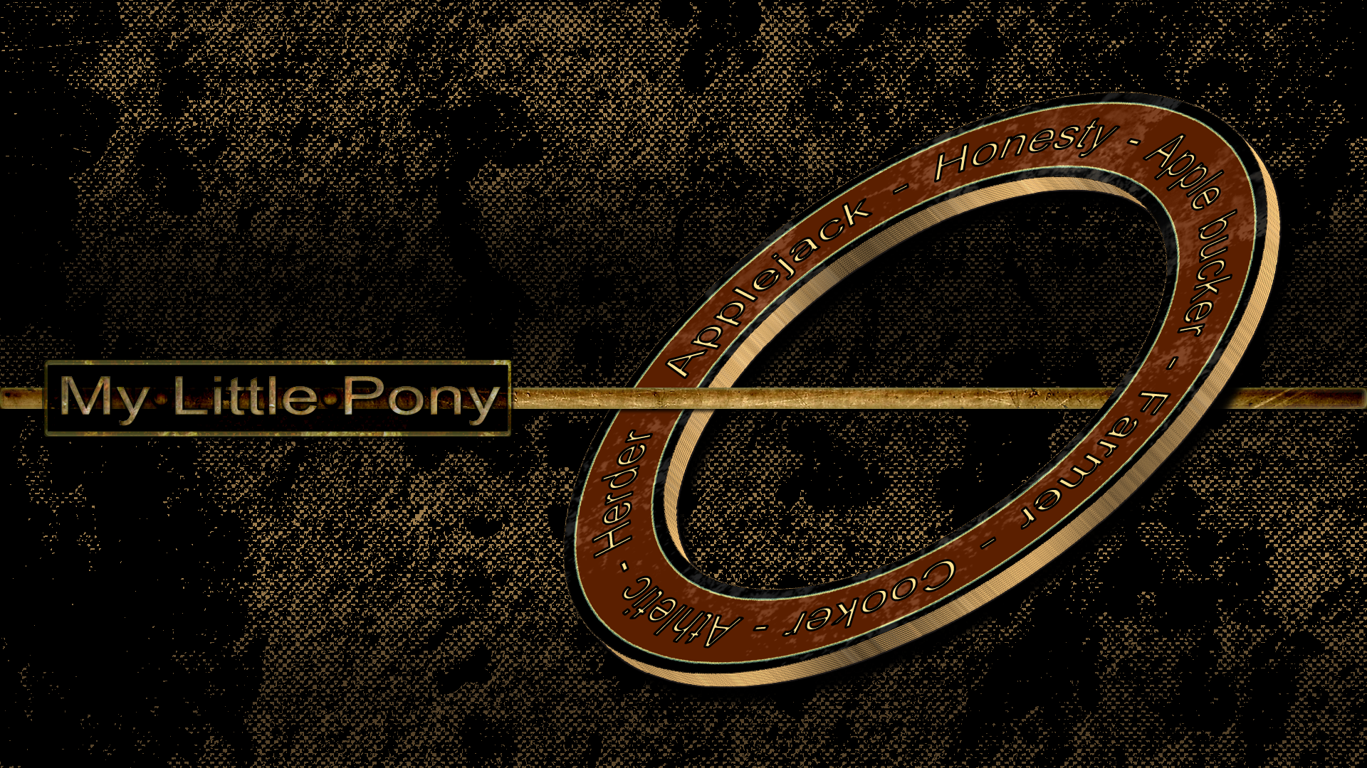 Applejack - Rust Ring by pims1978