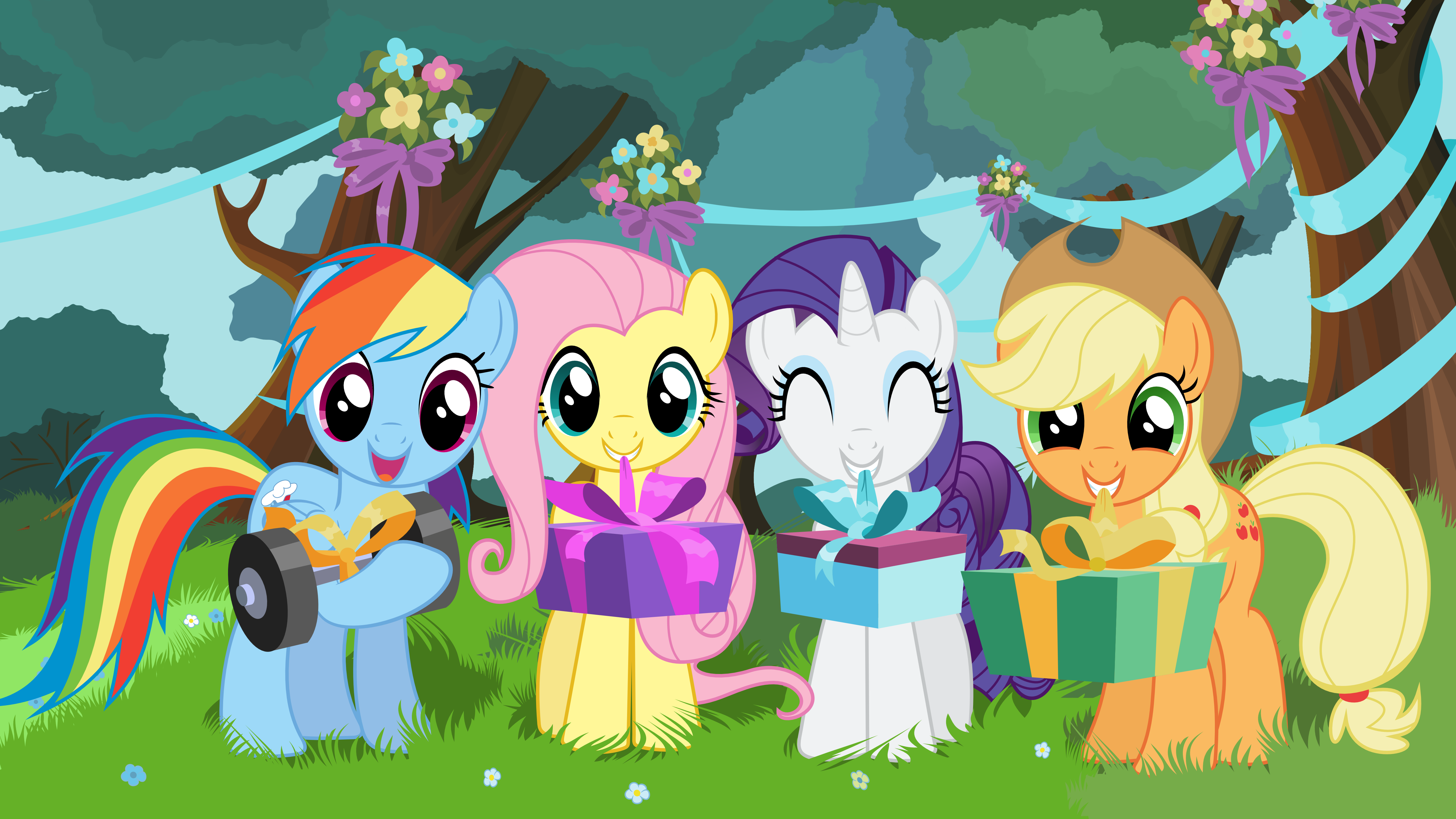 my little pony birthday wallpaper - photo #1