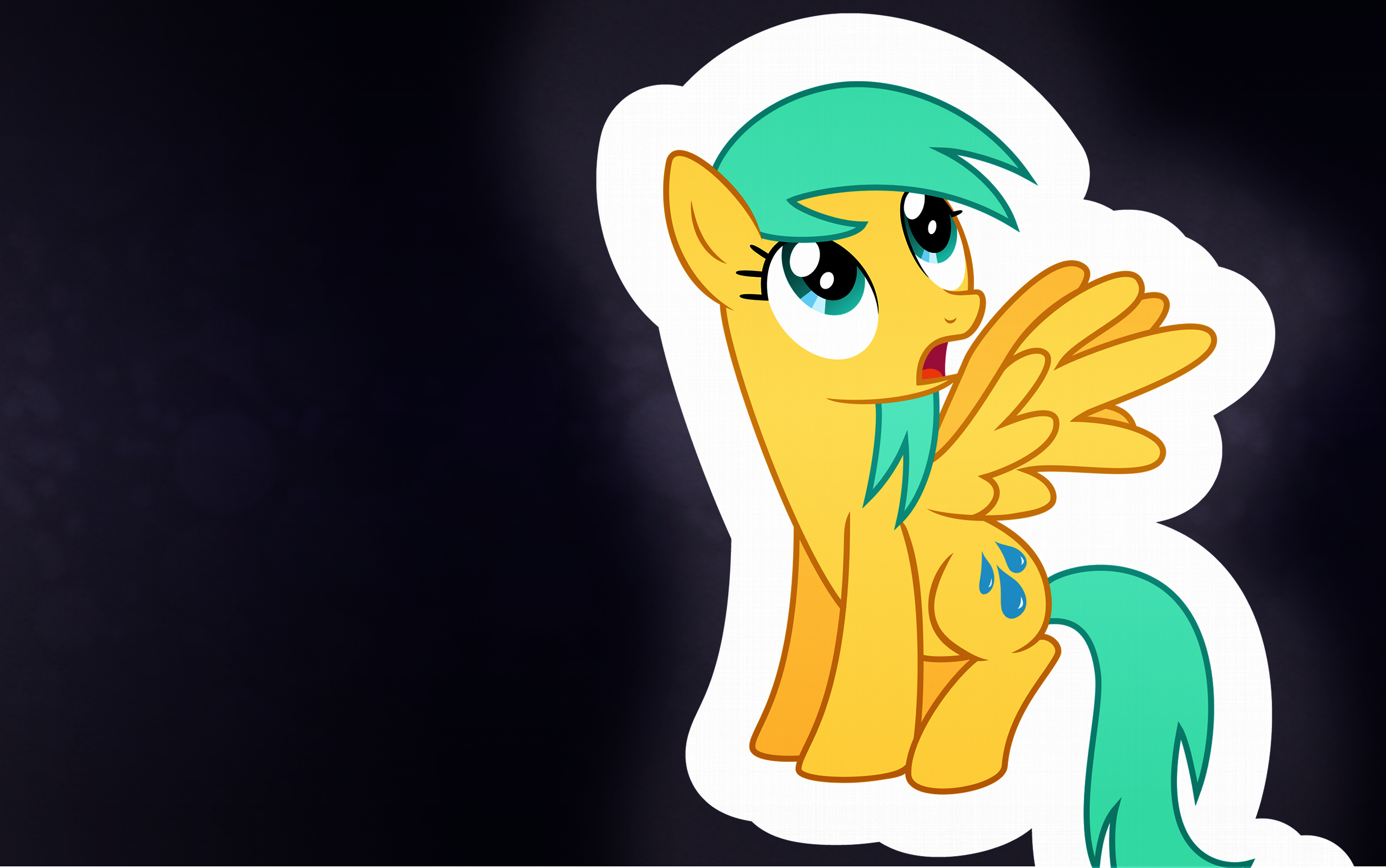 Raindrops wallpaper by SharkMachine and SilverRainclouds