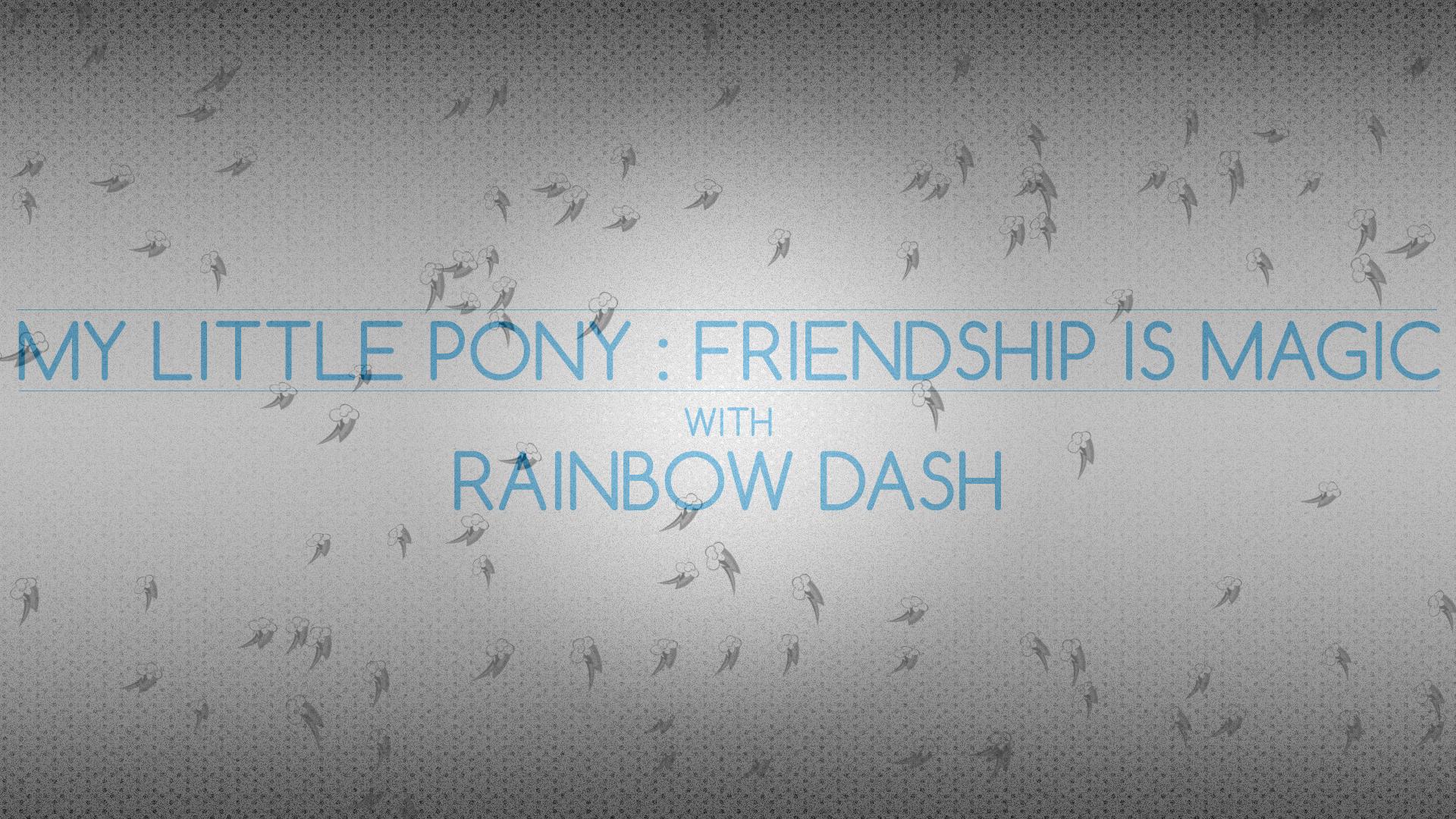 Gray Dot : Rainbow Dash by pims1978