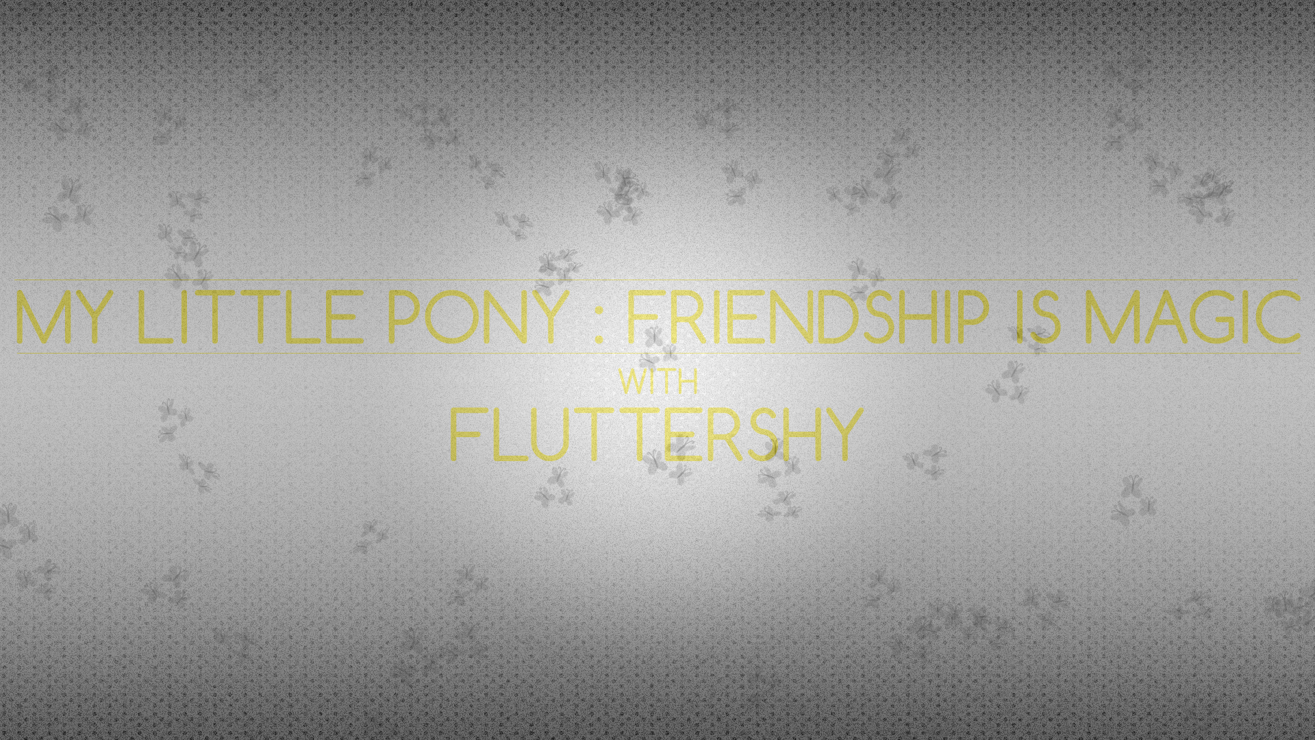 Gray Dot : Fluttershy by pims1978