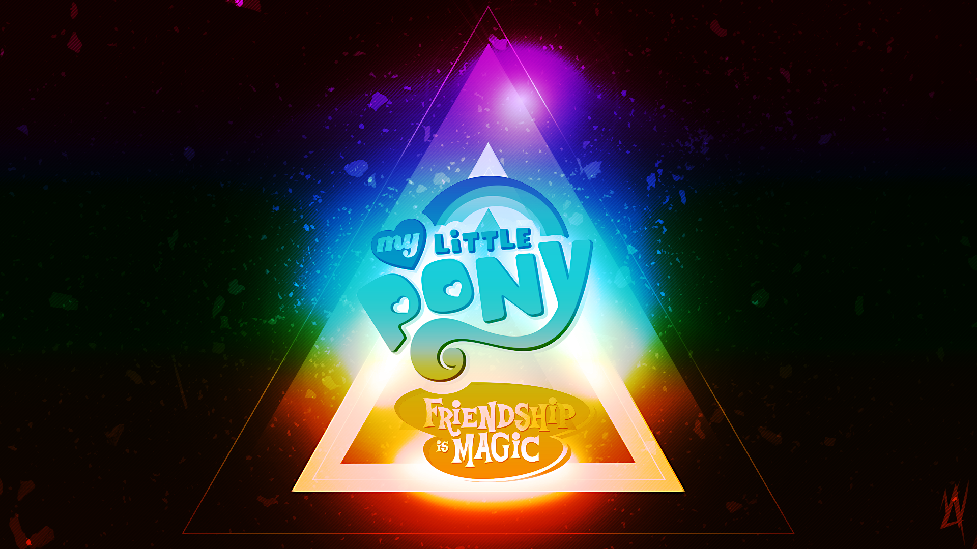 My Little Pony Friendship Is Magic Wallpaper By Mylittlevisuals