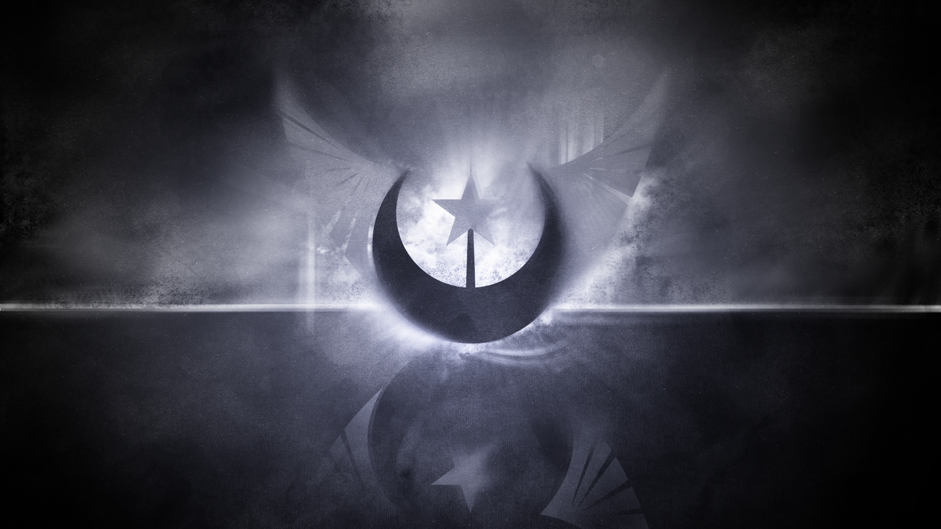 For Another Lunar Republic Wallpaper by DasinBoot and Emkay-MLP