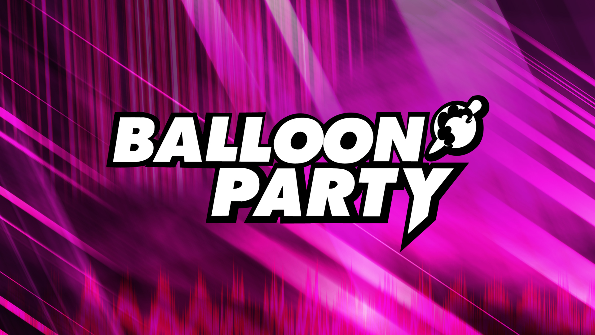 Balloon Party Wallpaper by WMill