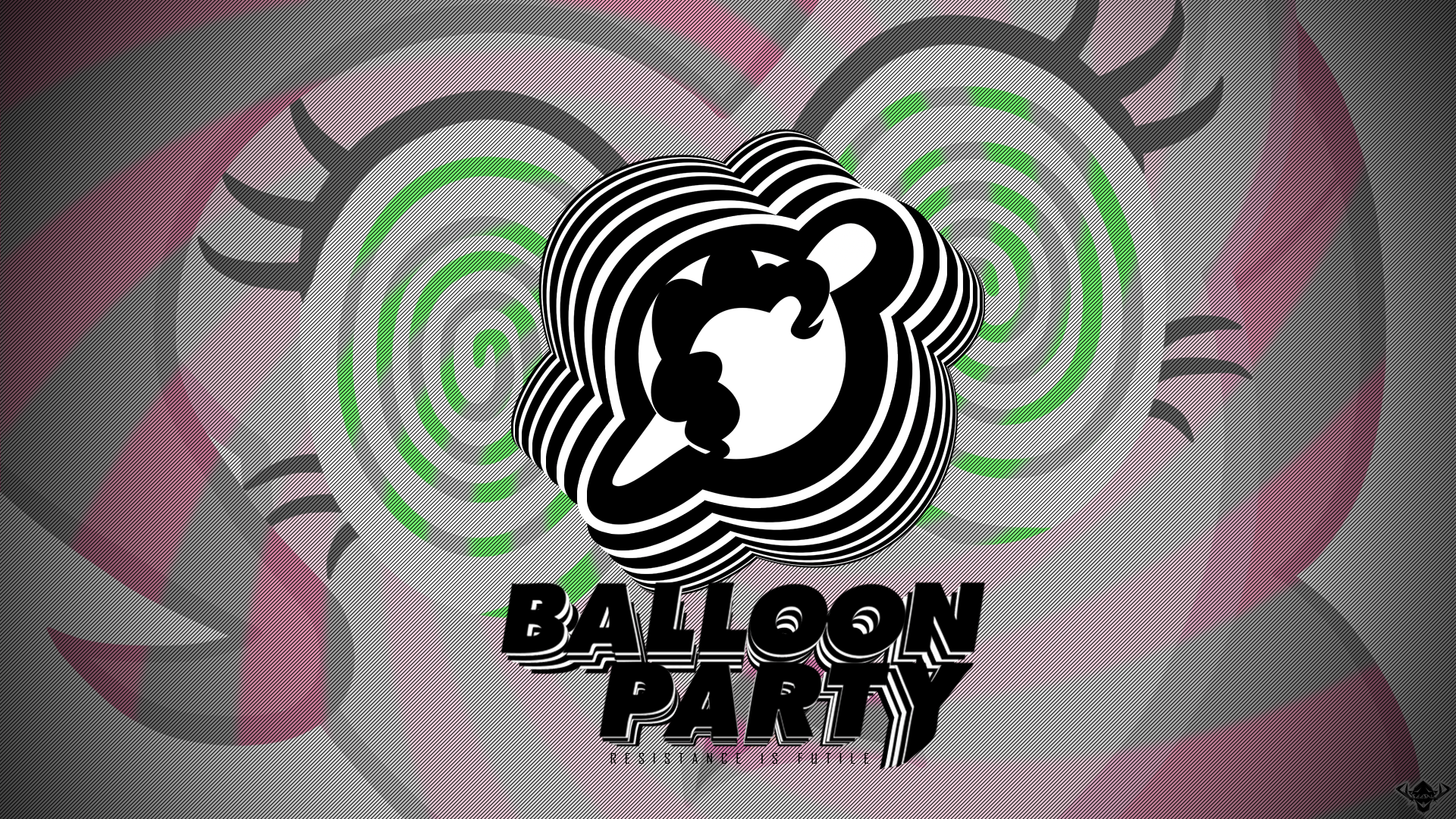 Balloon Party Hypnosis Wallpaper by Astanine and Tomchambo