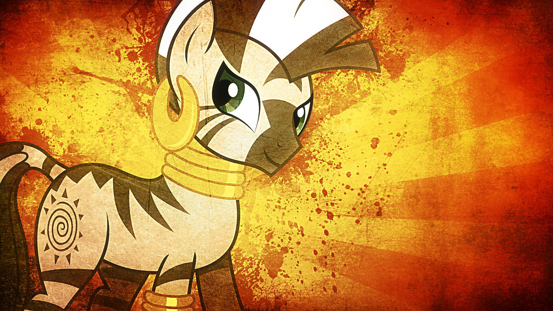 Zecora Wallpaper by Hawk9mm and Tzolkine