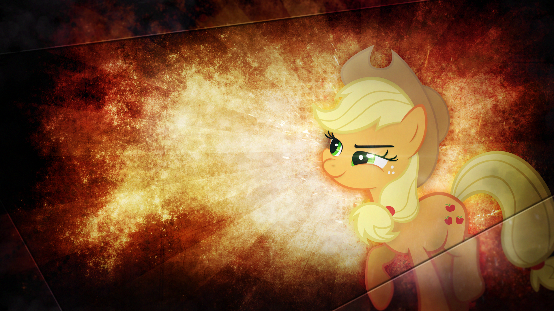 Wallpaper ~ Apple Jack. by Mackaged and RyantheBrony