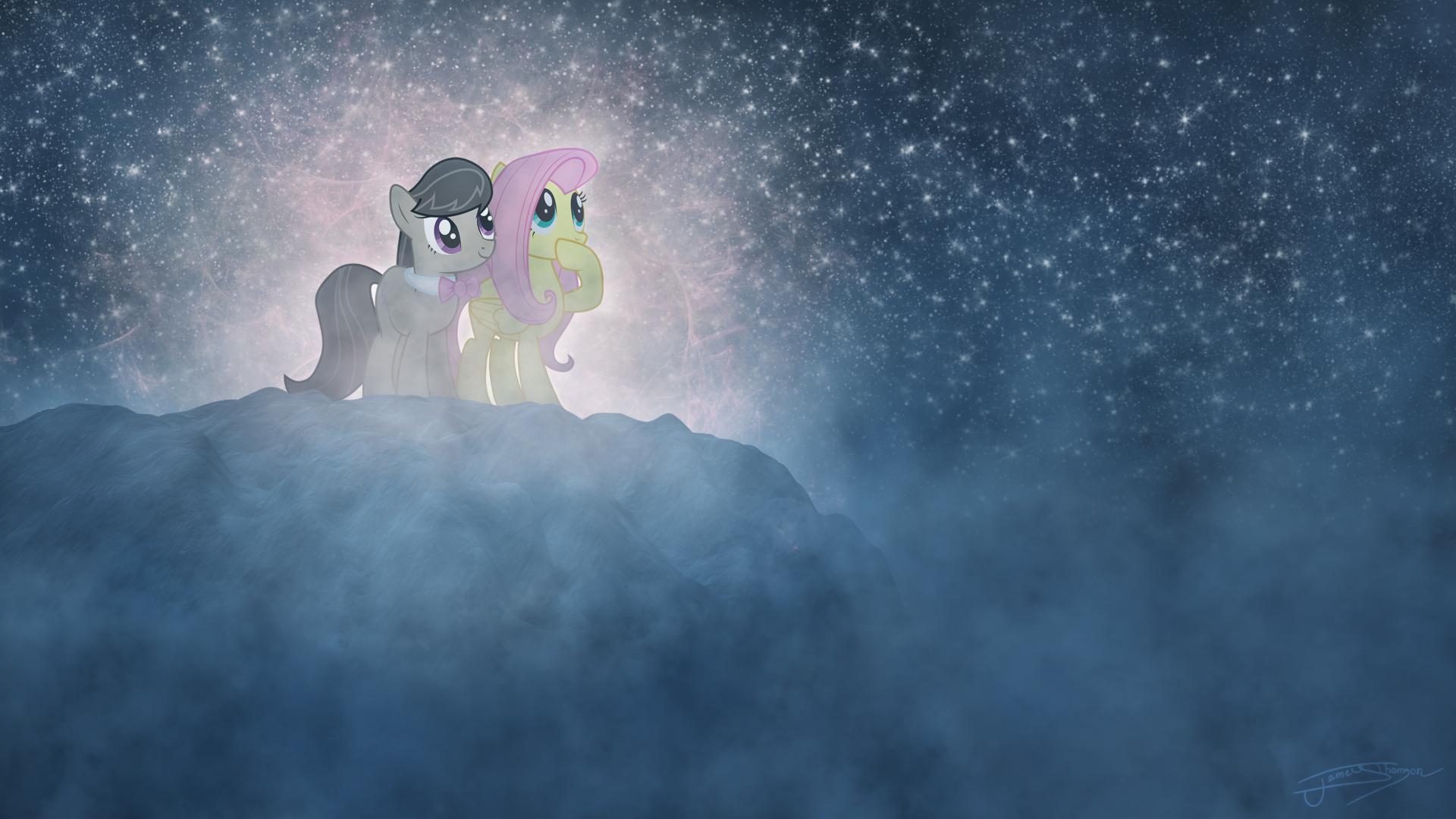 A Night of Stargazing by arcticjuniper, Jamey4 and Quanno3