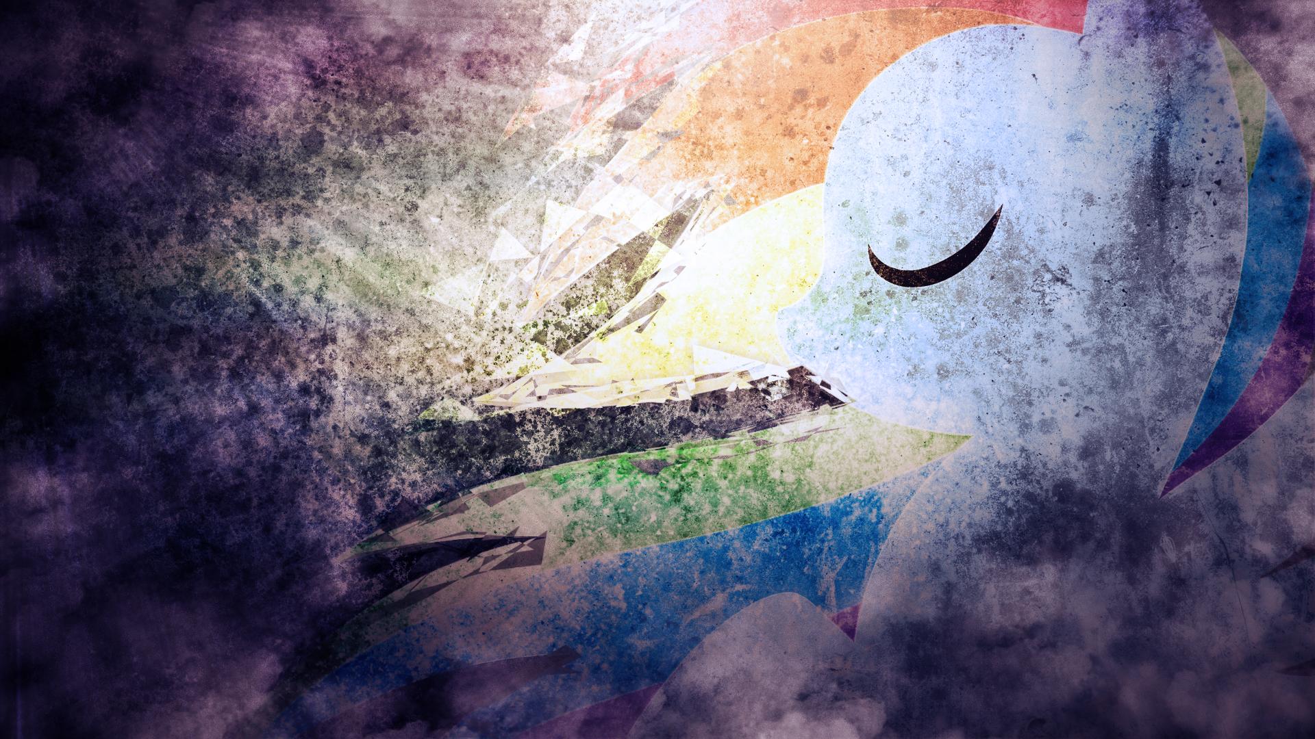 Rainbow Dash - MegaSweet (20% Cooler Edit) by MegaSweet and SandwichDelta