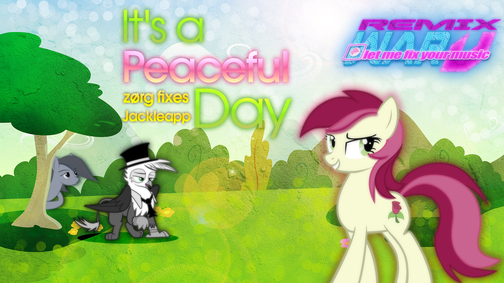 Roseluck - It's A Peaceful Day {Cover Art} - RW5 by CptOfTheFriendship, KibbieTheGreat and nightcider